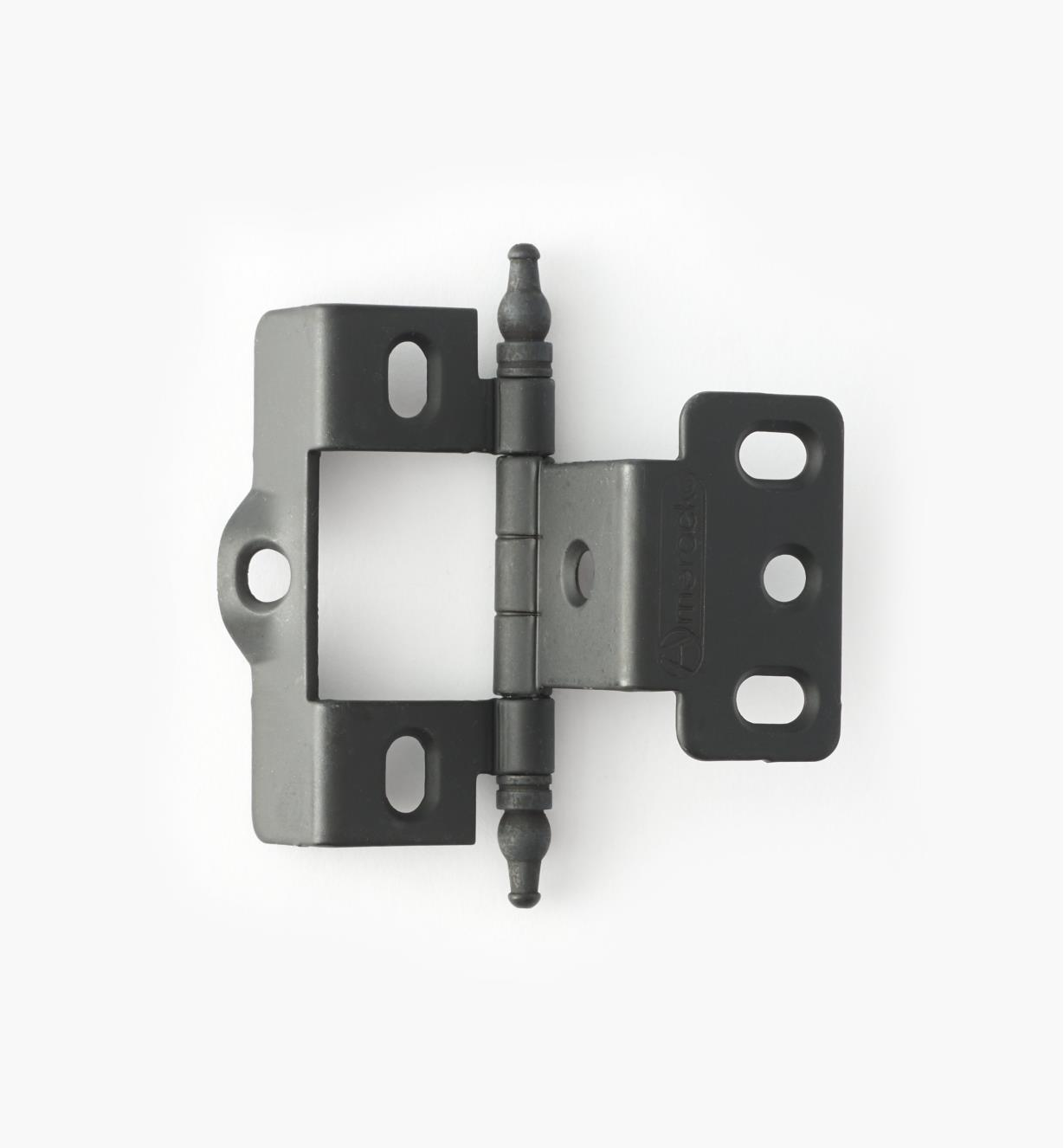 01H3060 - Full-Wrap Hinge,Black, Minaret