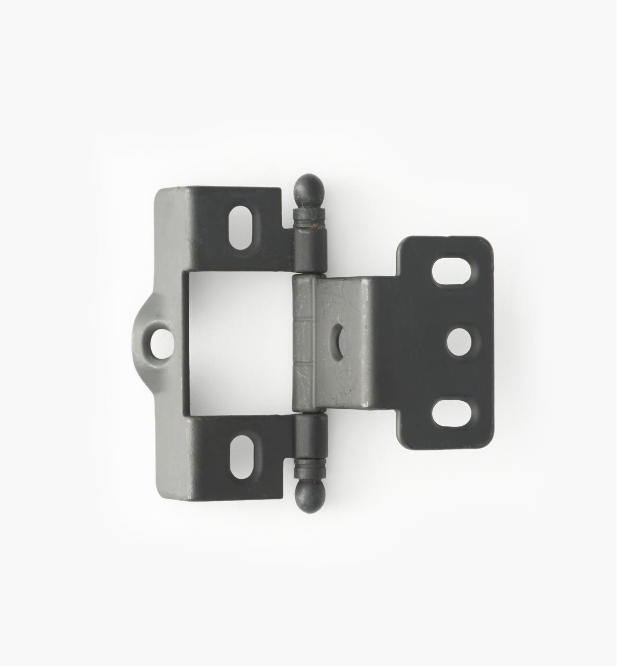 01H3062 - Full-Wrap Hinge,Black, Ball