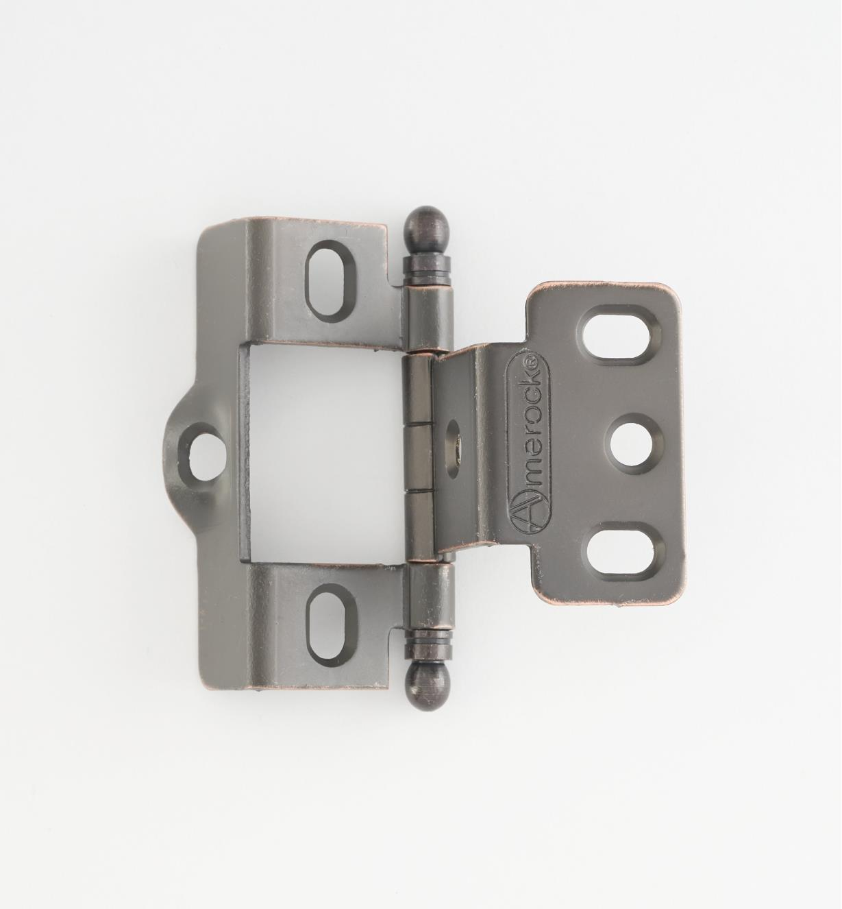 01H3092 - Full-Wrap Hinge,Oil-Rubbed Bronze, Ball