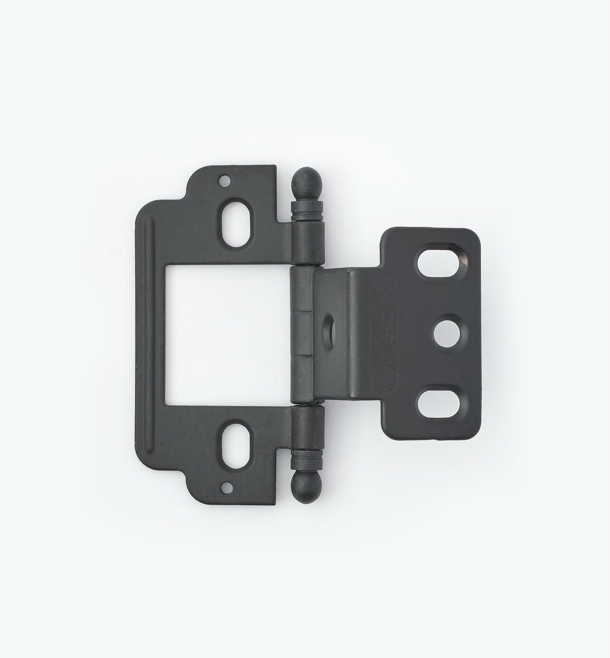 01H3162 - Partial-Wrap Hinge,Black, Ball