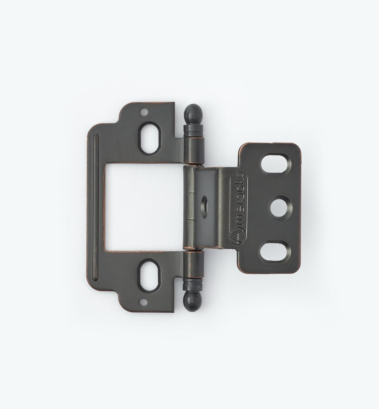 01H3192 - Partial-Wrap Hinge,Oil-Rubbed Bronze, Ball