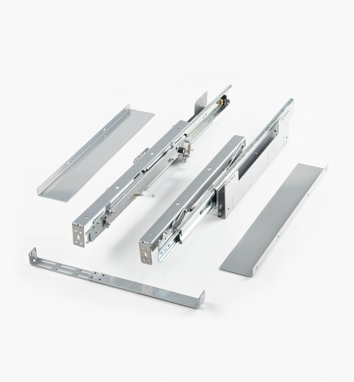 12K1640 - Worktop Extension Slides, pair