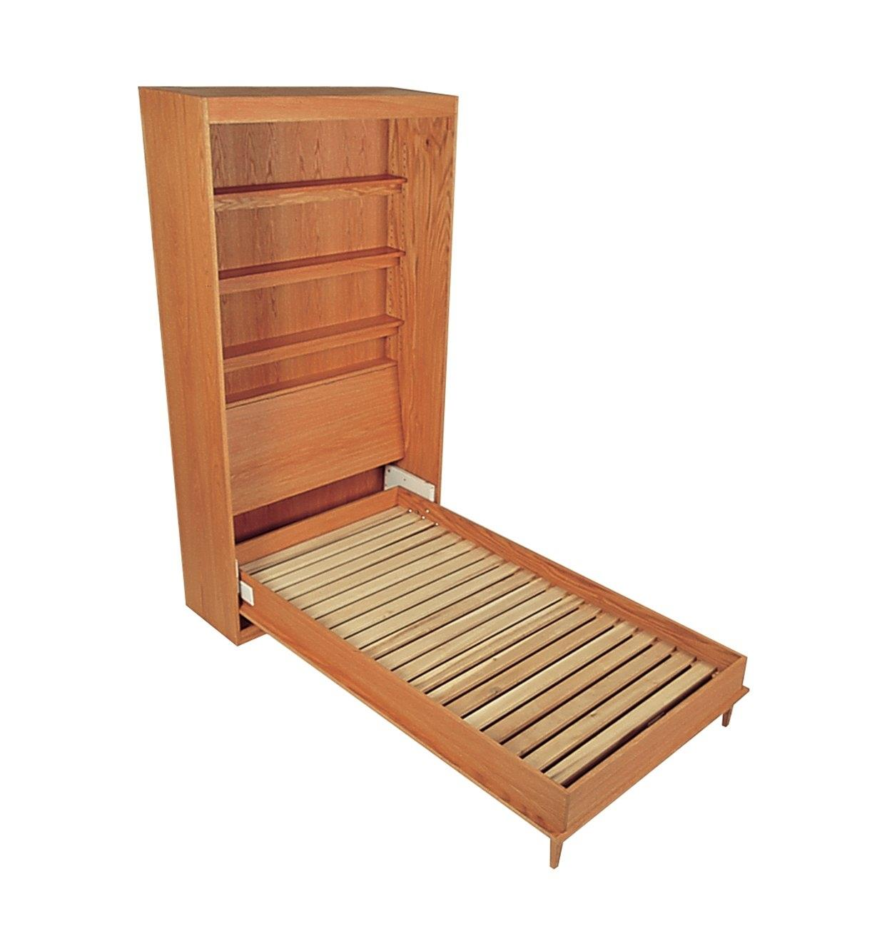 Example of open Murphy bed