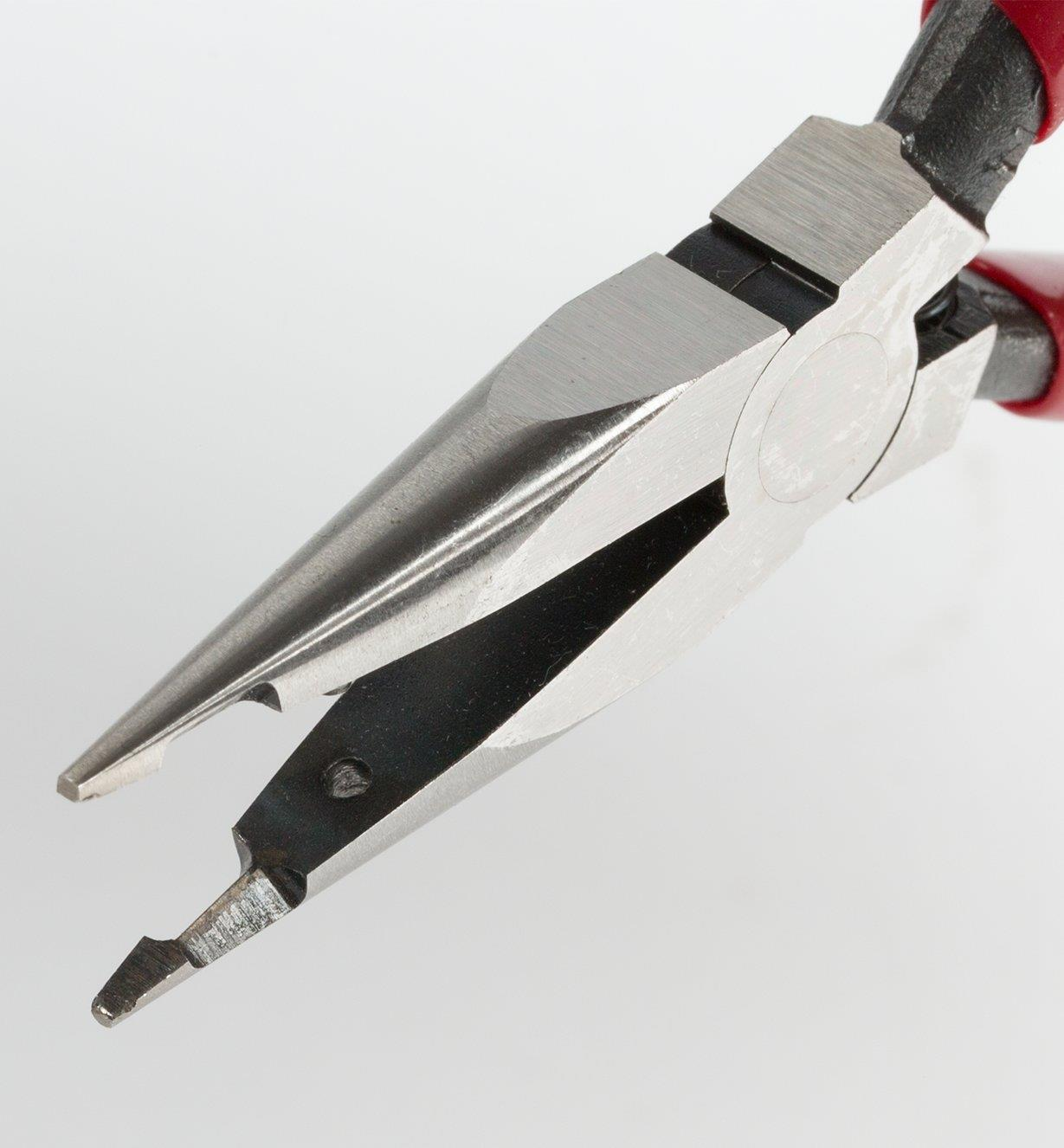 60K2302 - Mini Needle-Nose Pliers with Tip Cutters