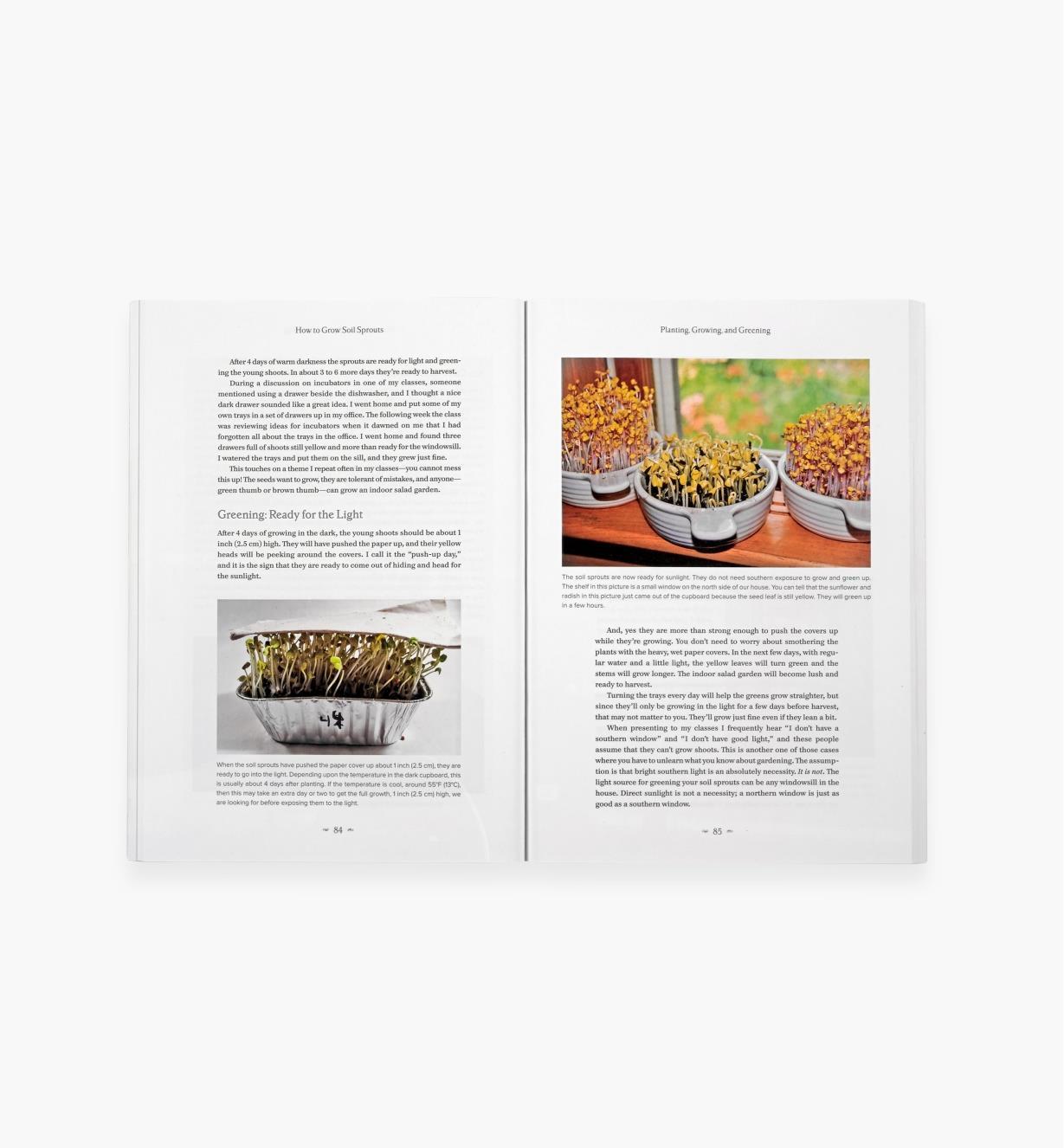 LA572 - Year-Round Indoor Salad Gardening