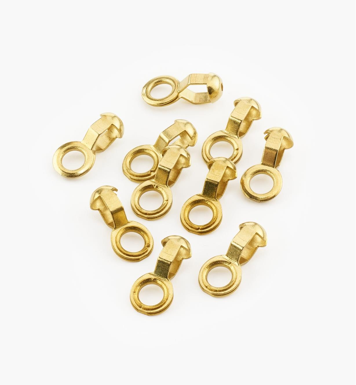 00G4220 - #3 End Rings, pkg. of 10