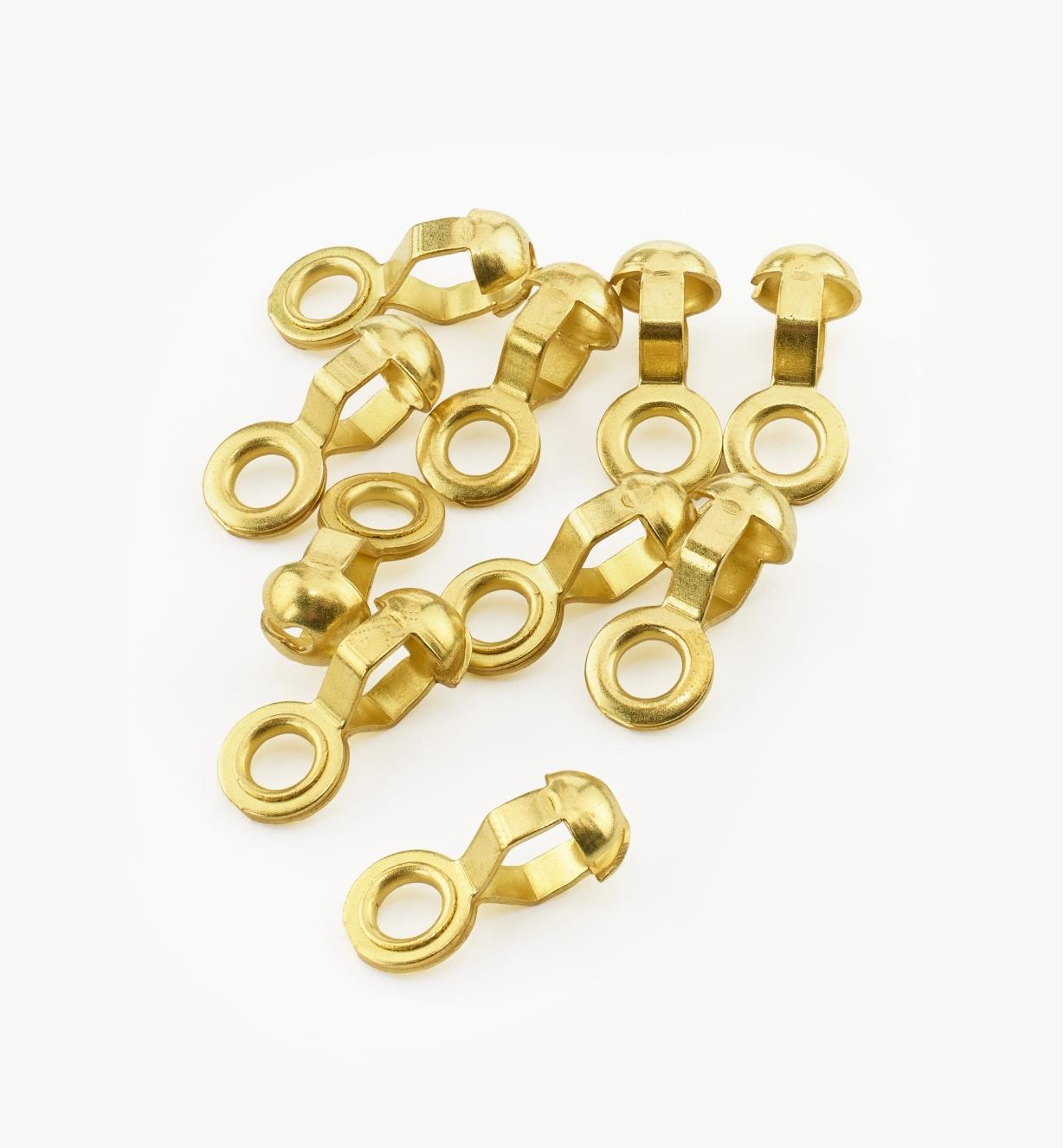 00G4520 - #10 End Rings, pkg. of 10