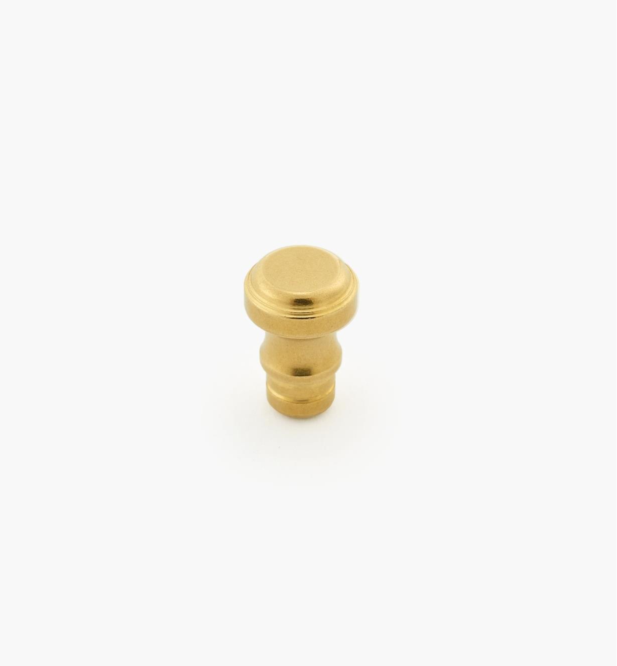 "01B1122 - 5/16"" x  3/16"" Brass Knob"