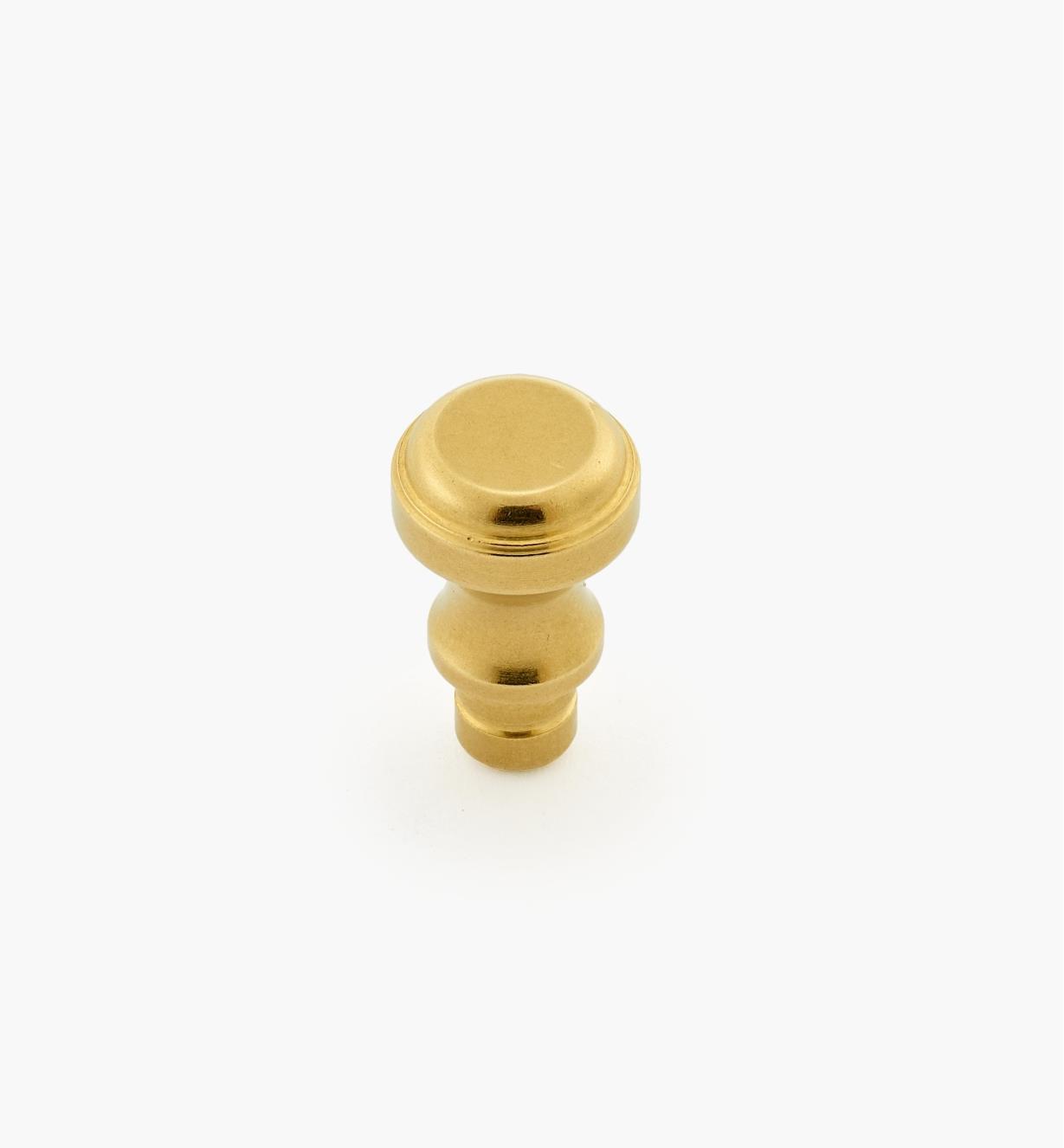 "01B1128 - 3/8"" x  3/16"" Brass Knob"