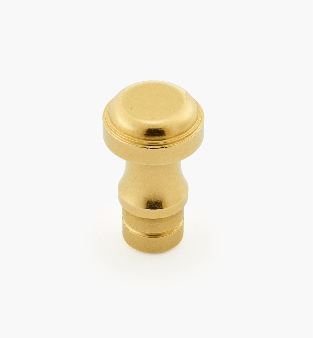 "01B1132 - 1/2"" x  5/16"" Brass Knob"
