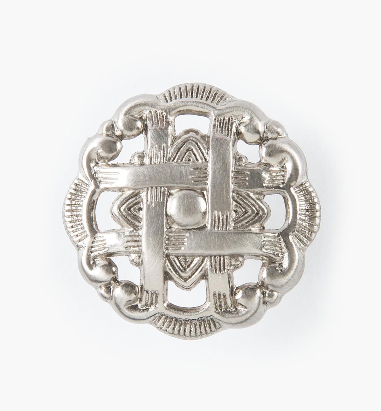 "03W2267 - 1 7/16"" x 3/4"" Belwith-Hickory Elegant Weave Knob, each"