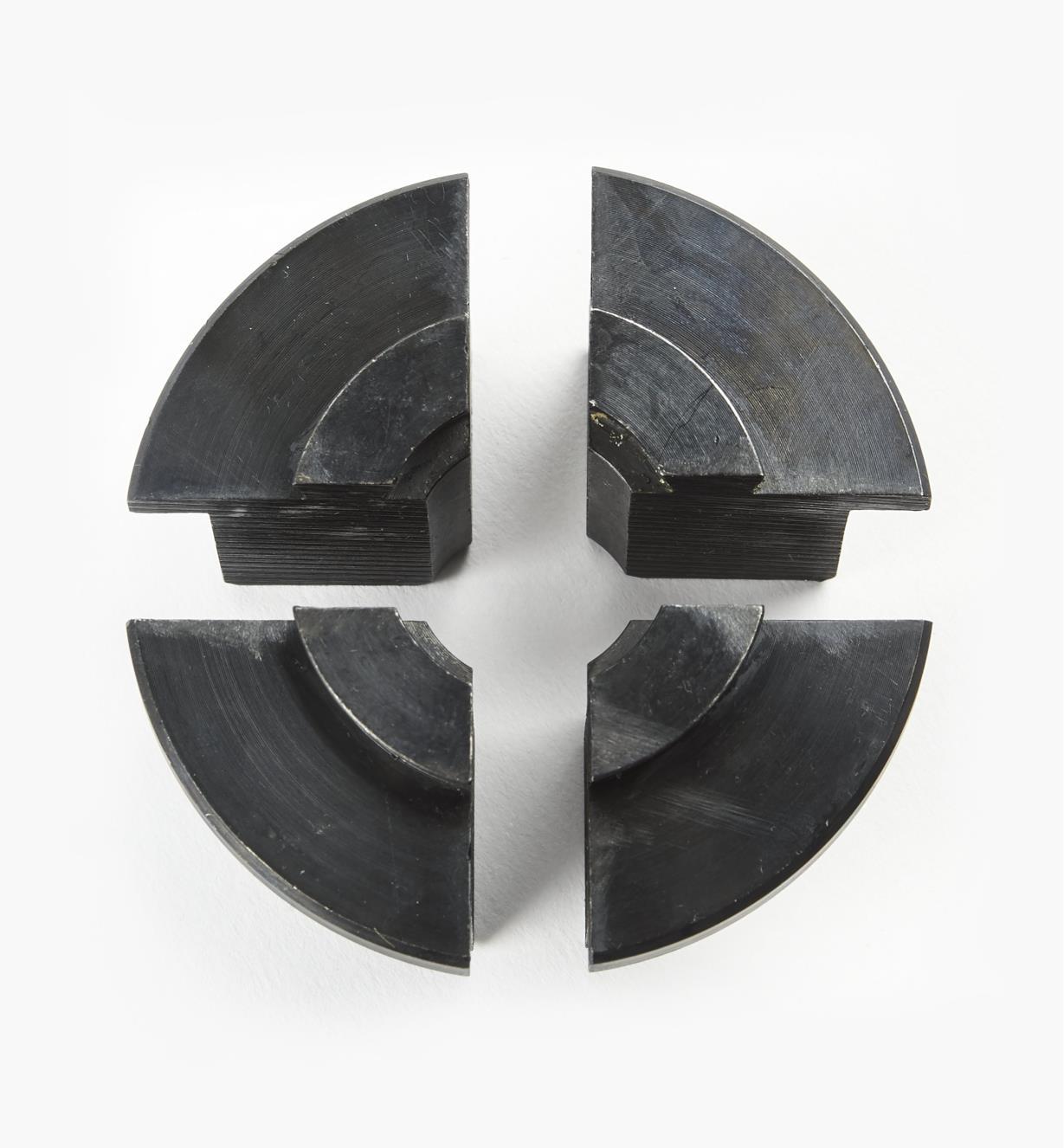 58B4062 - Jeu de mors-réducteurs O'Donnell Axminster, 25 mm (1 po)