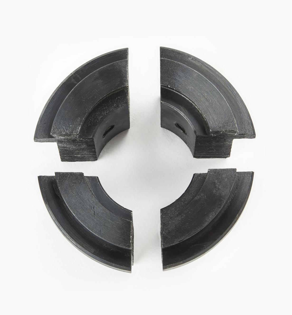 58B4063 - Jeu de mors-réducteurs O'Donnell Axminster, 38 mm (1 1/2 po)