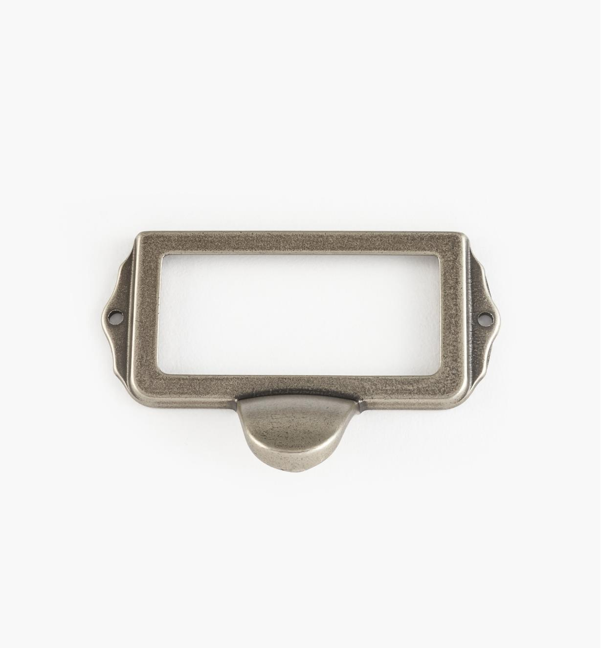01A5754 - Pewter Card Frame Pull