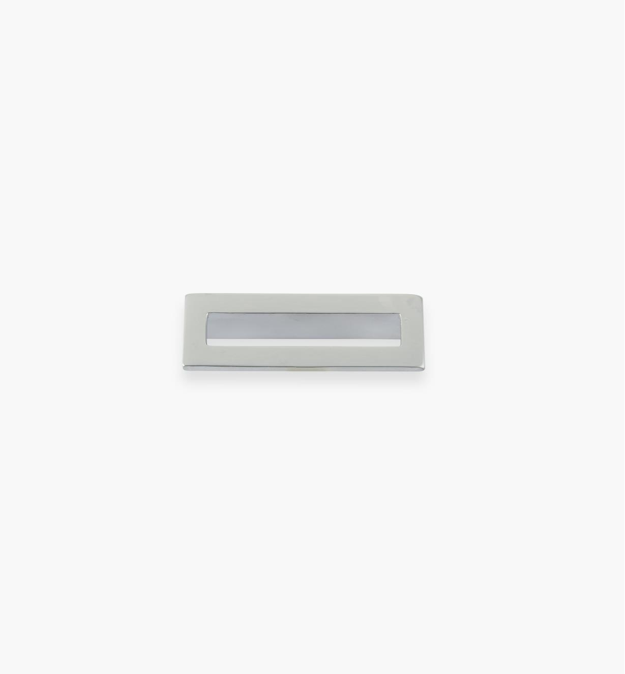 01G1892 - 64mm x 70mm Matte Chrome Core Handle, each