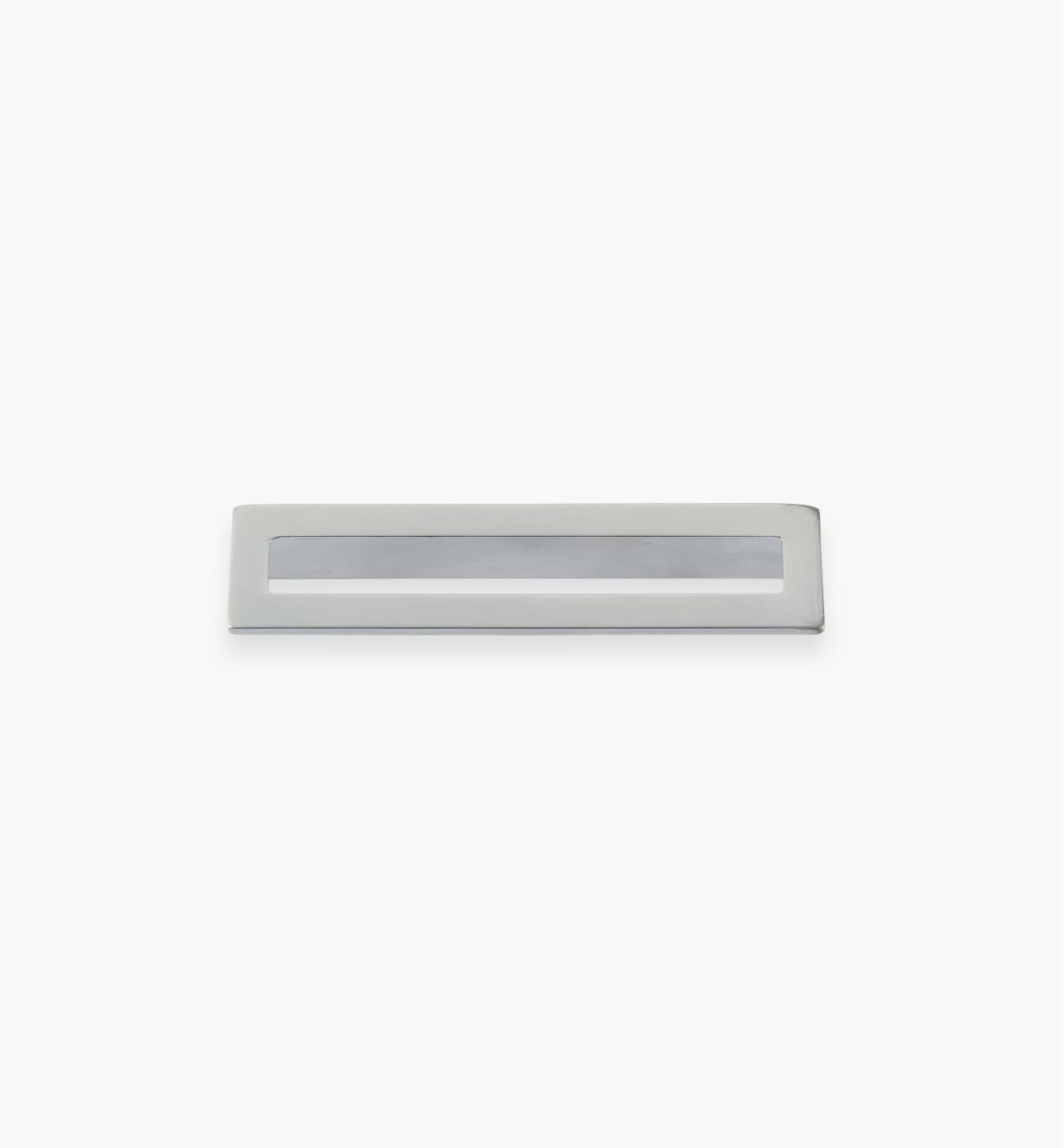 01G1893 - 96mm x 102mm Matte Chrome Core Handle, each
