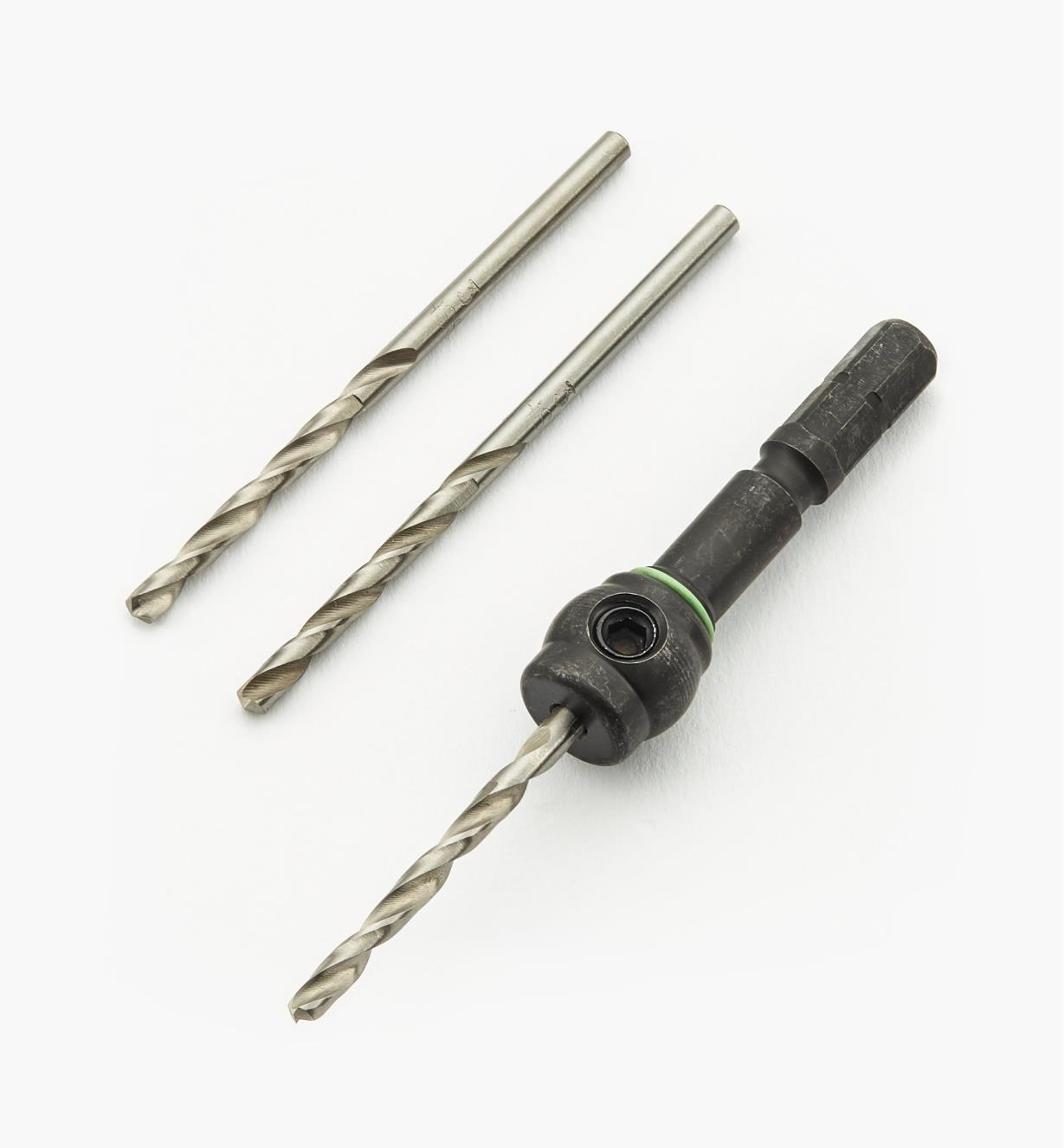 ZA493421 - Centrotec HSS Spiral Drill Bits - 3mm