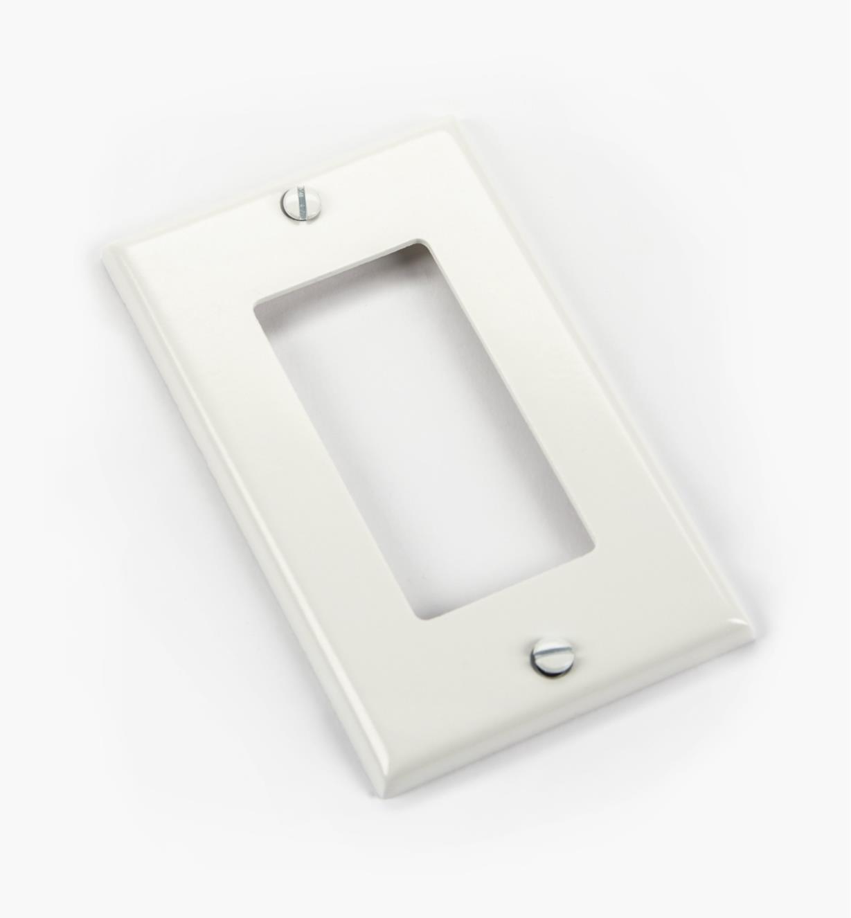 00U4180 - Plaque de fixation, blanc