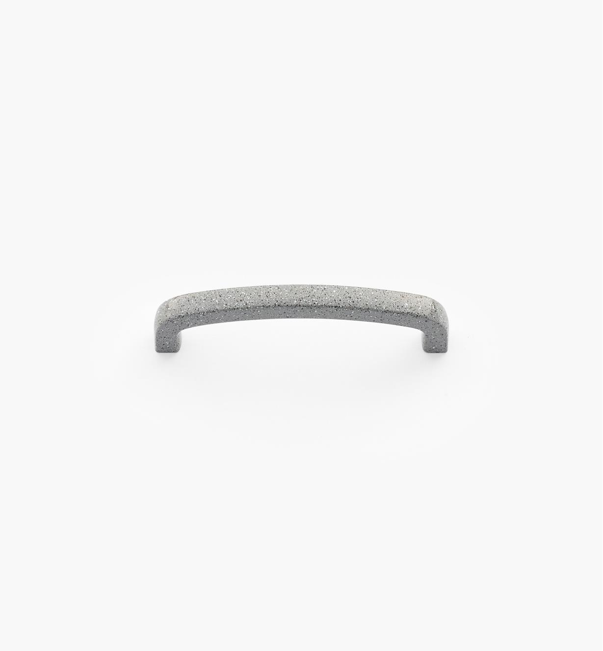00W4512 - Poignée-fil carrée moulée sous pression, époxyde tacheté gris, 3 po