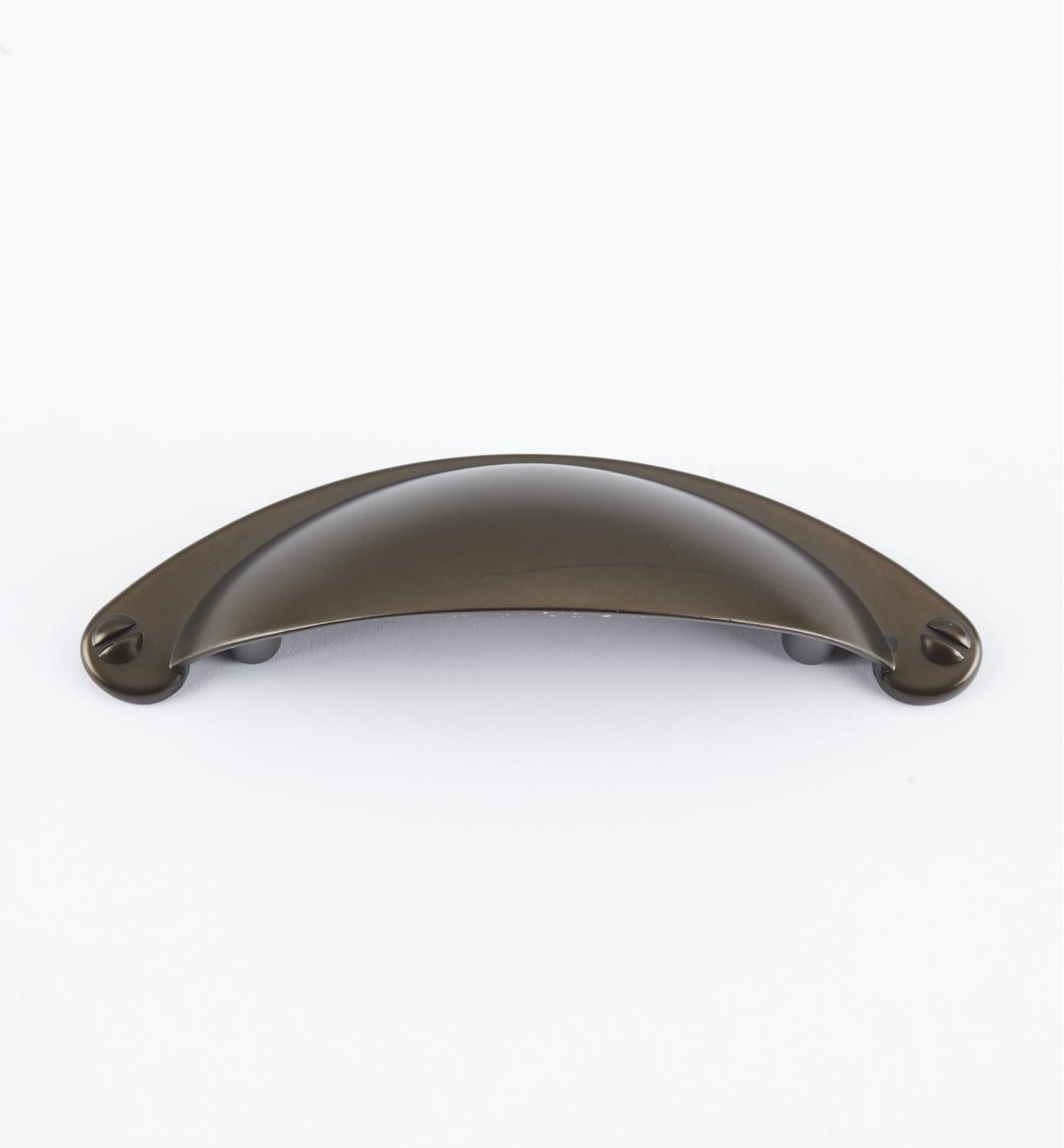 "02W4089 - 4 1/8"" Oil-Rubbed Bronze Cup Pull (64mm)"