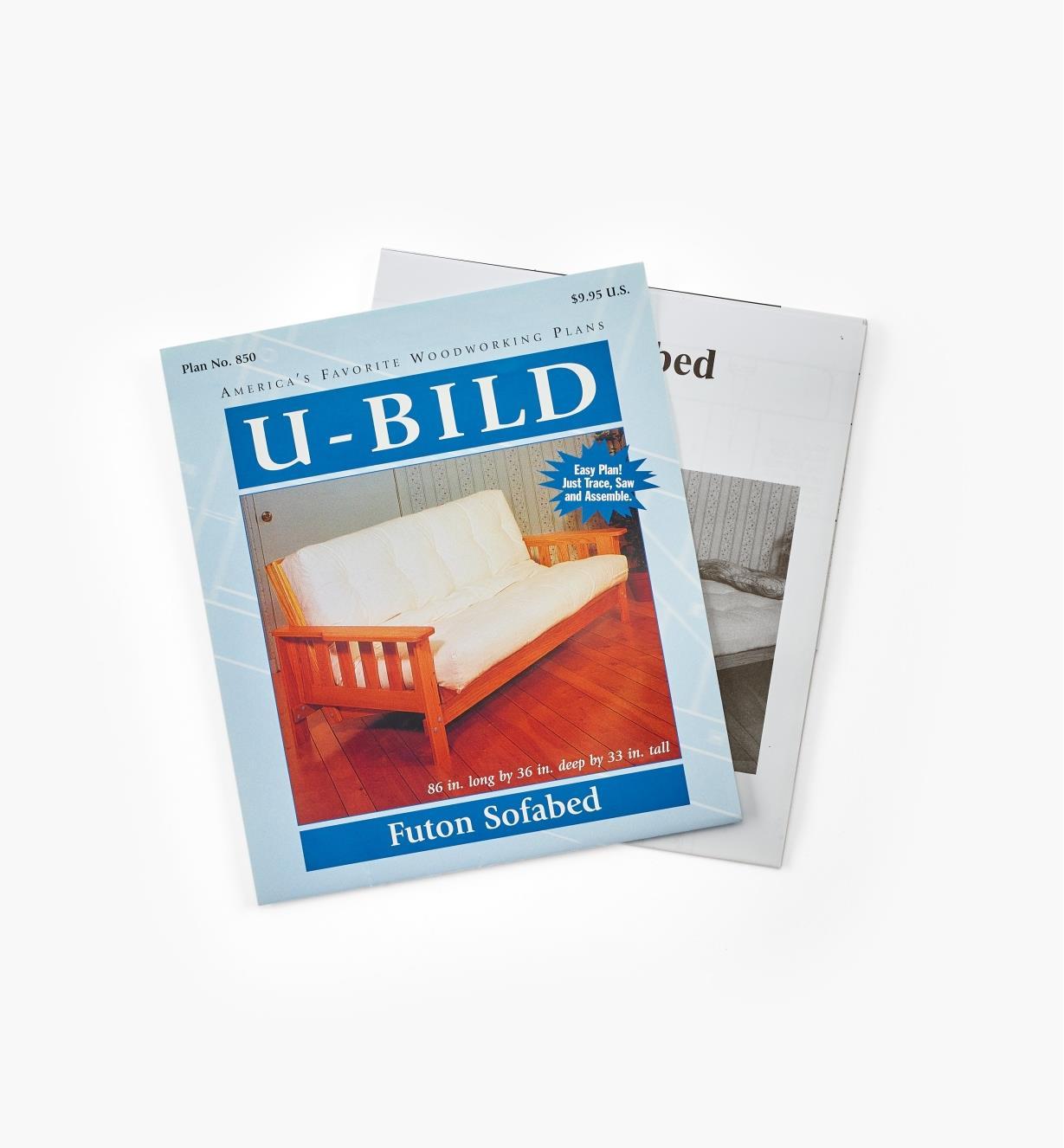 11L0205 - Futon Sofabed Plan