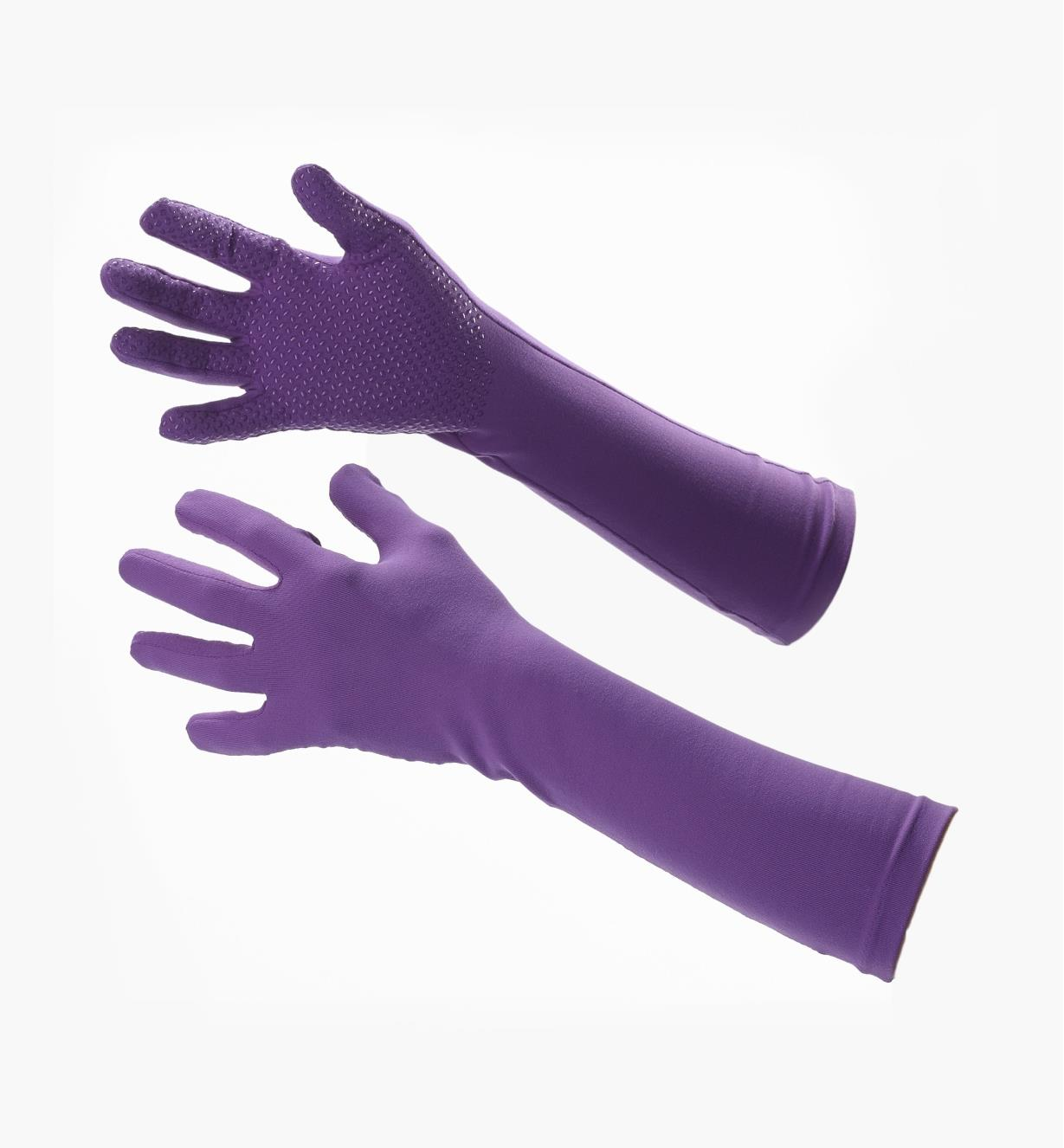Gants Foxgloves, lilas (long)