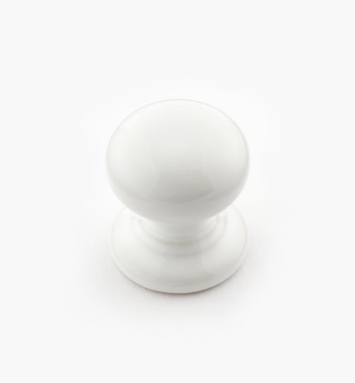 "00W4430 - 1 3/16"" x 1 1/4"" Lg Ceramic Knob"