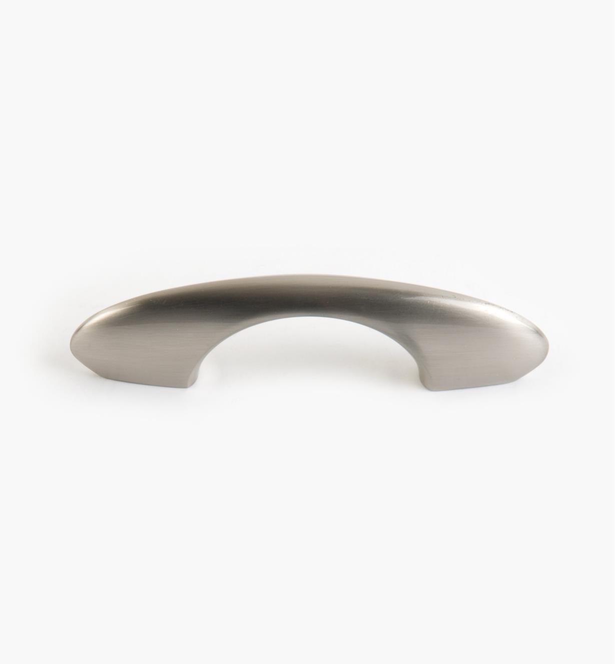 01G1461 - 64mm x 27mm Brushed Nickel Halo Handle