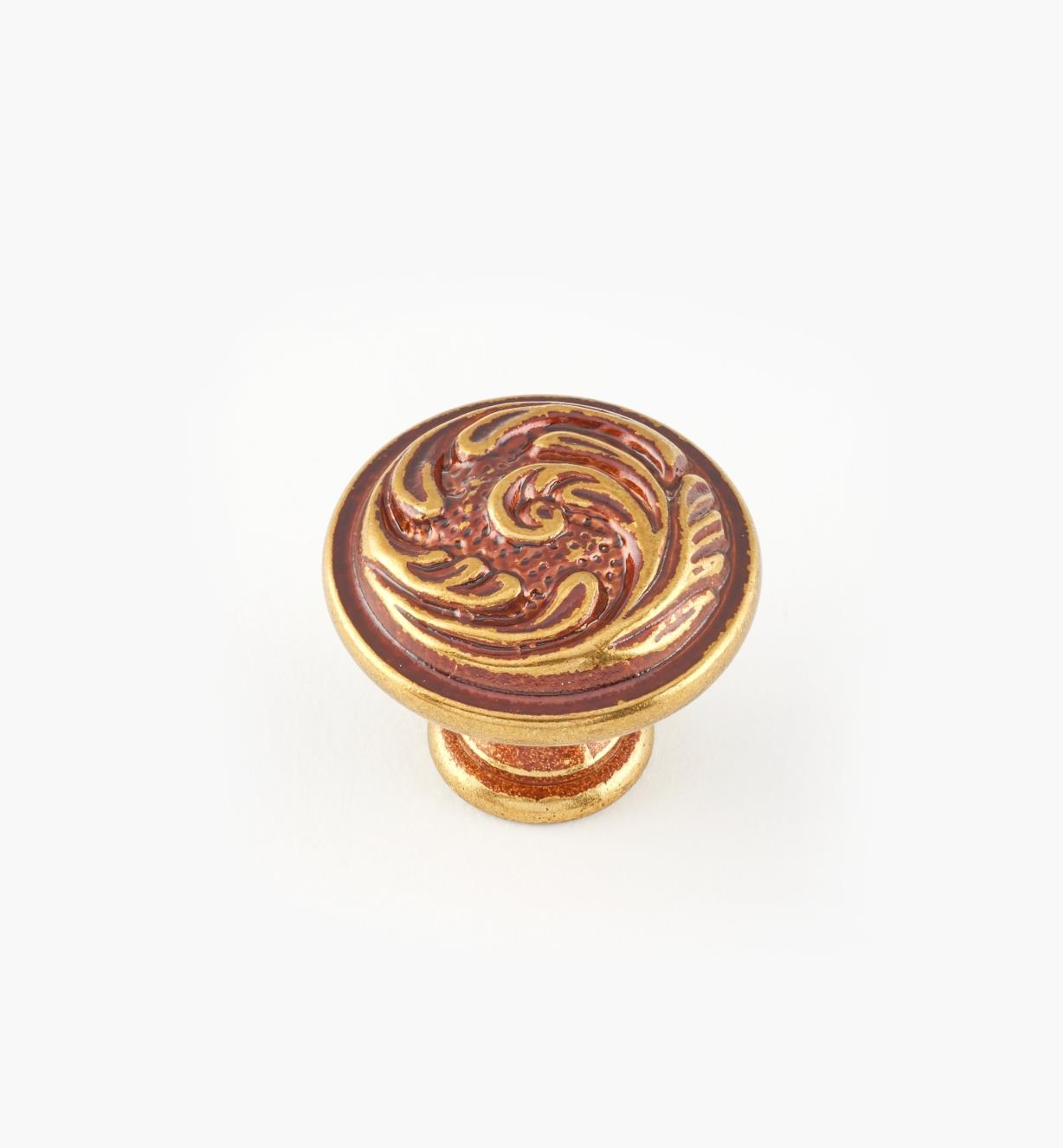 01A5350 - 25mm x 22mm Louis XV Knob