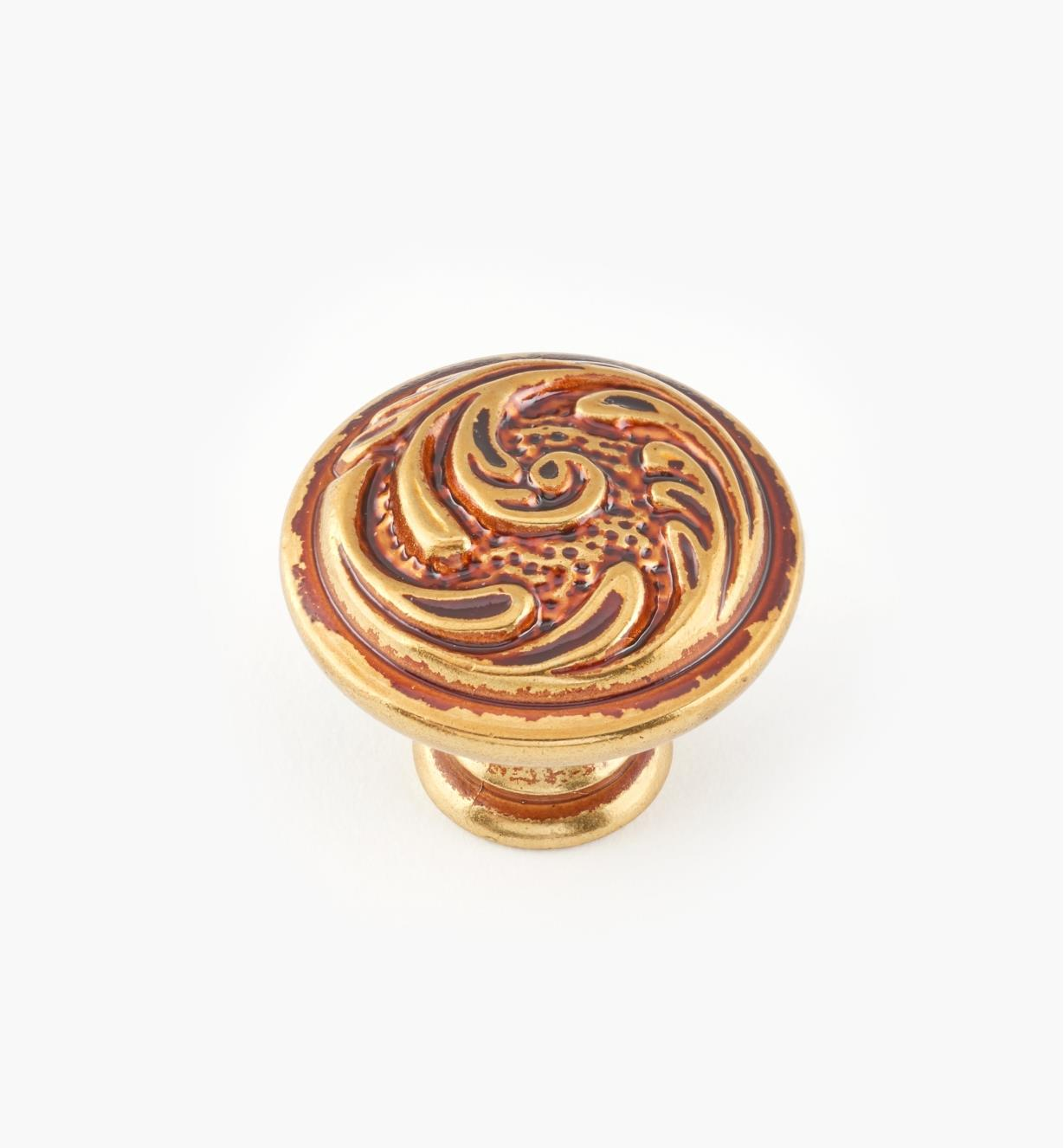 01A5351 - 30mm x 24mm Louis XV Knob