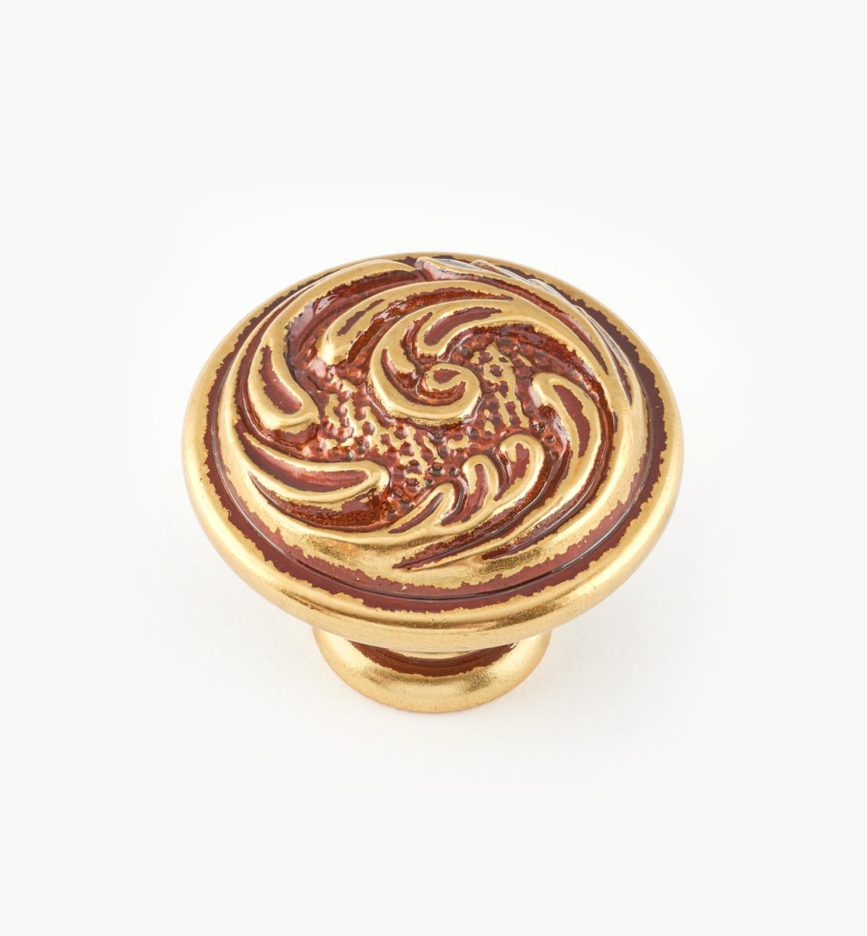 01A5352 - 35mm x 28mm Louis XV Knob