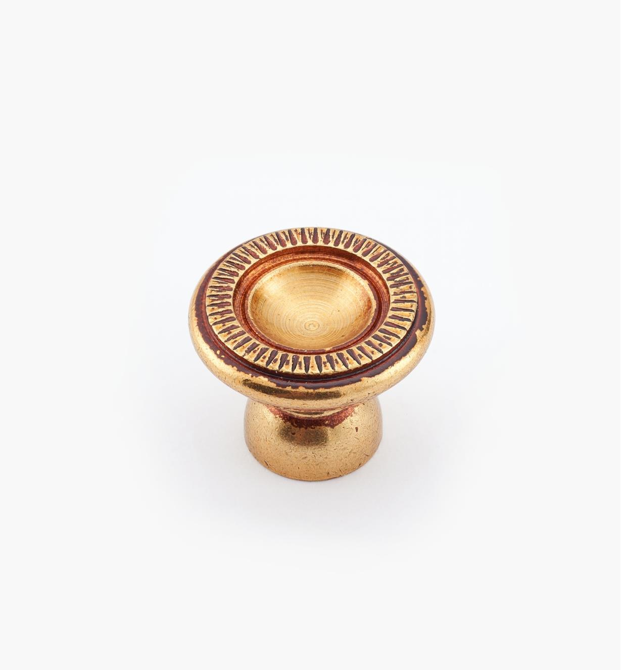 01A5881 -20mm × 16mm Antique Bronze Knob