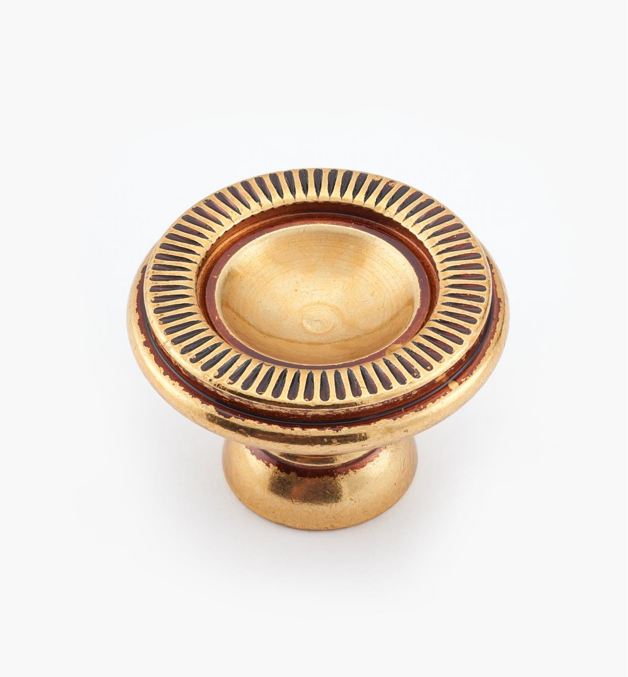 01A5883 - 30mm x 20mm Antique Brass Knob