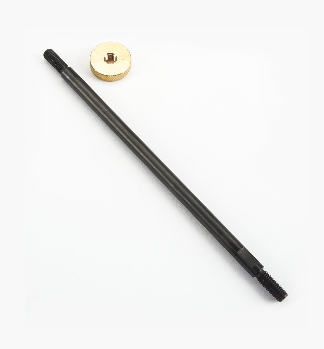 88K7863 - Tige et écrou en laiton de gros diamètre