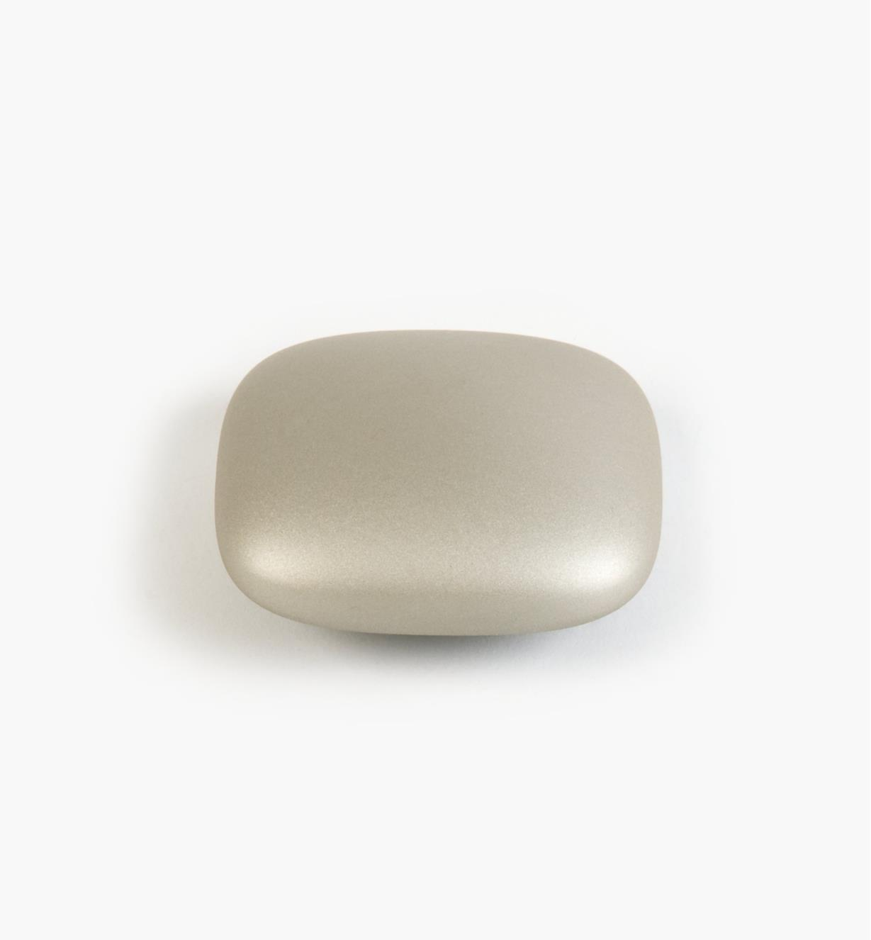 01G1601 - 32mm Sq. Satin Nickel Stone Pull