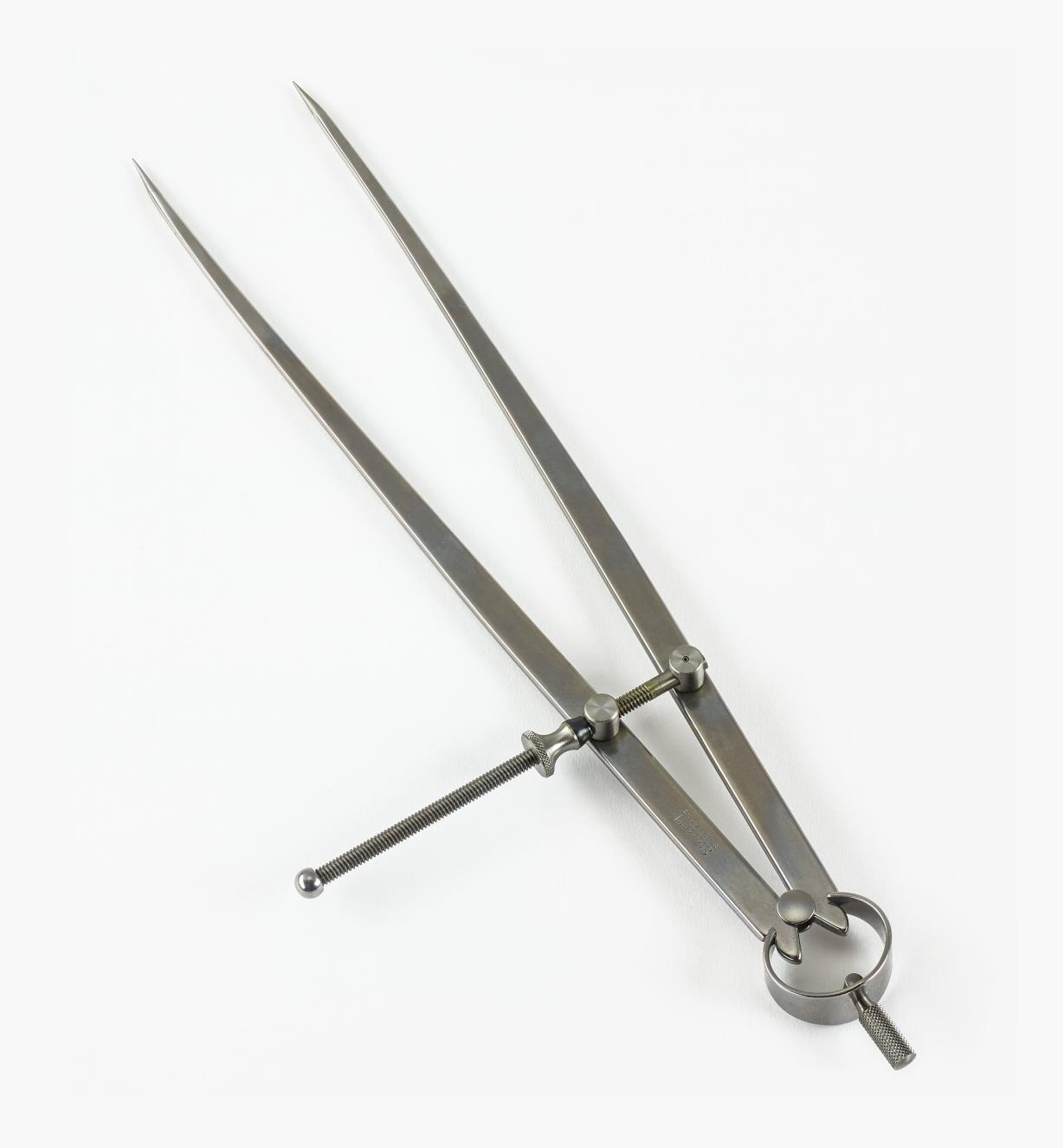 30N2524 - Compas à pointes sèches à écrou standard, 12 po