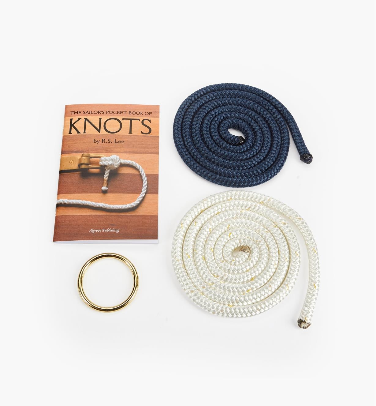 49L8607 - Sailor's Book with Ring Set