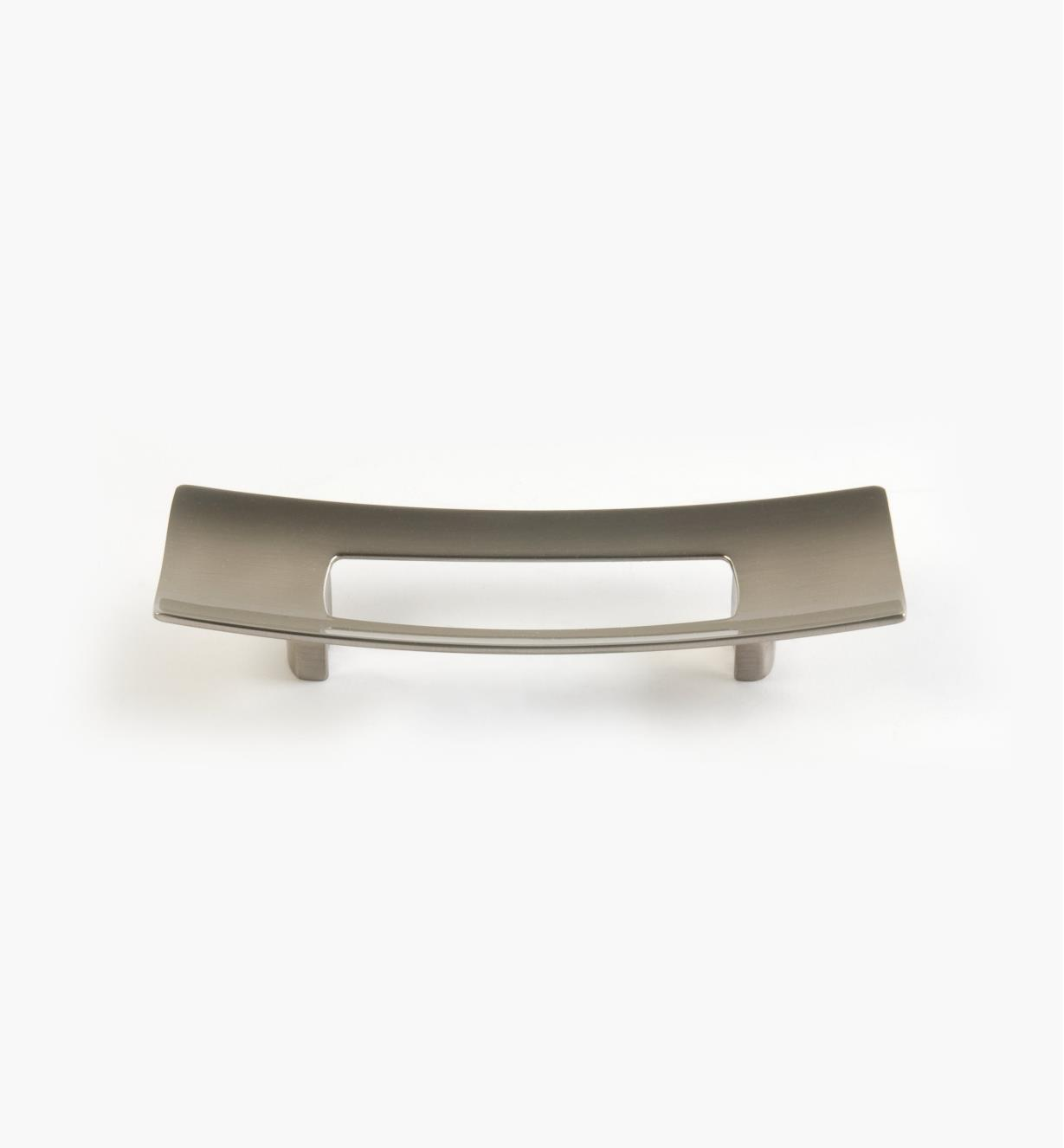 01G1642 - 96mm x 30mm Brushed Nickel Rect. Ventana Pull