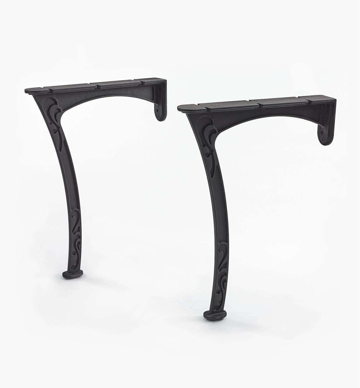 05K4801 - Wall-Mount Table Legs, pr.