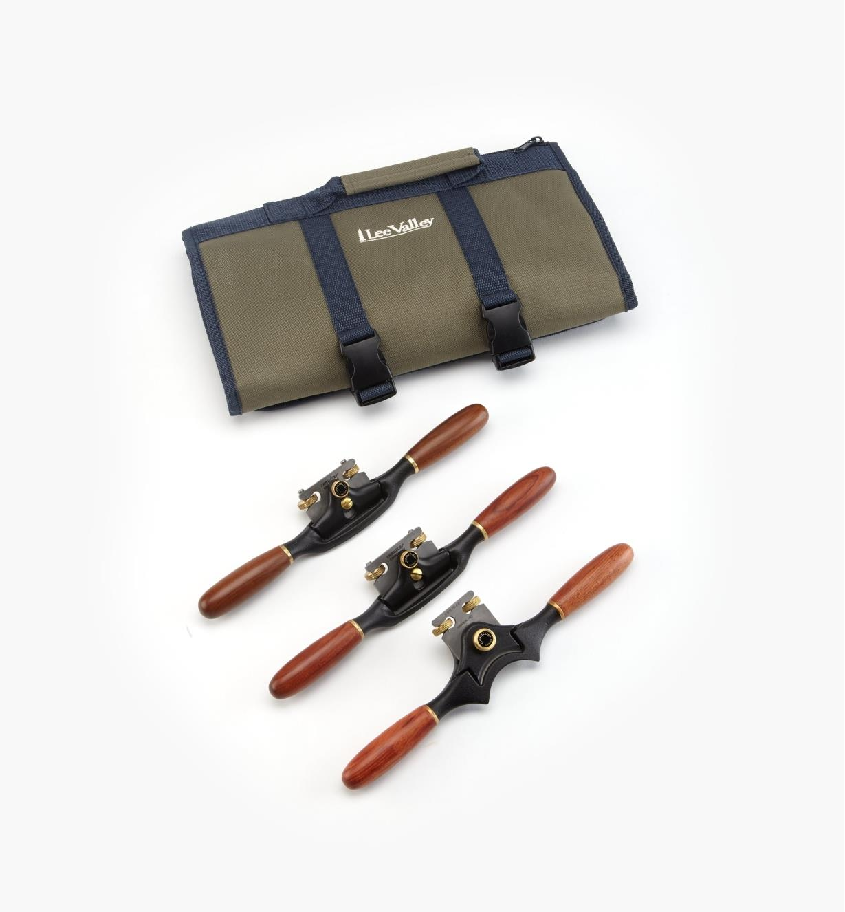 05P3315 - Veritas Spokeshave Set (A2) & Roll
