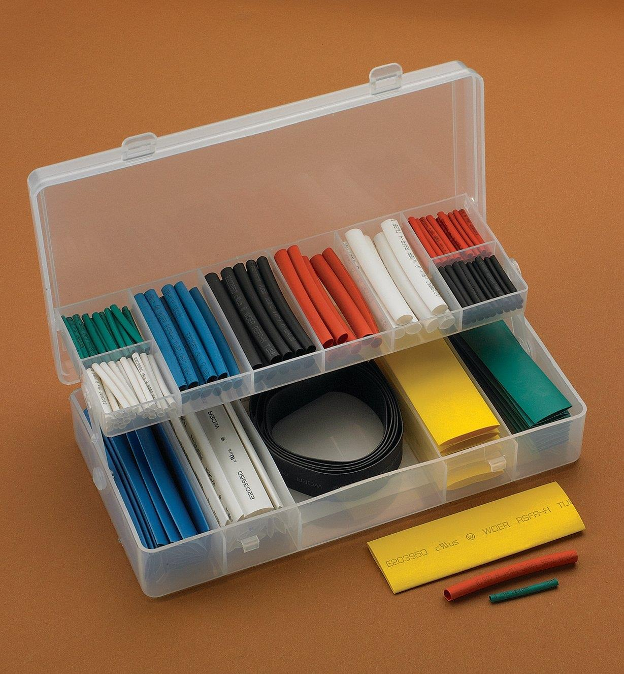 25K0150 - 171-Piece Shrink-Tubing Kit