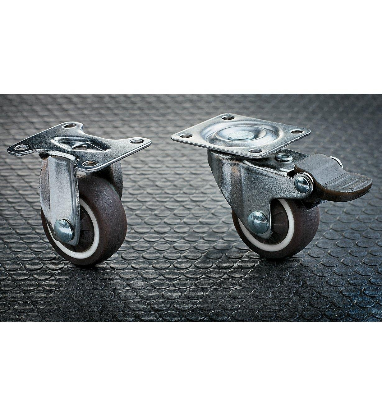 32mm TPR Casters
