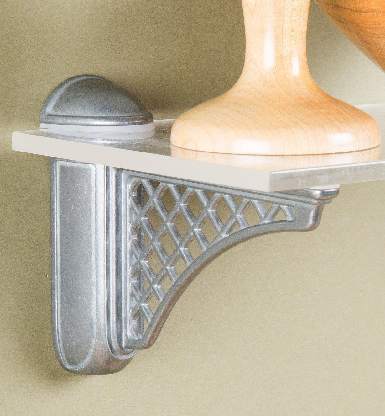 01A1851 - Colonial Tumbled Nickel Adjustable Bracket, each