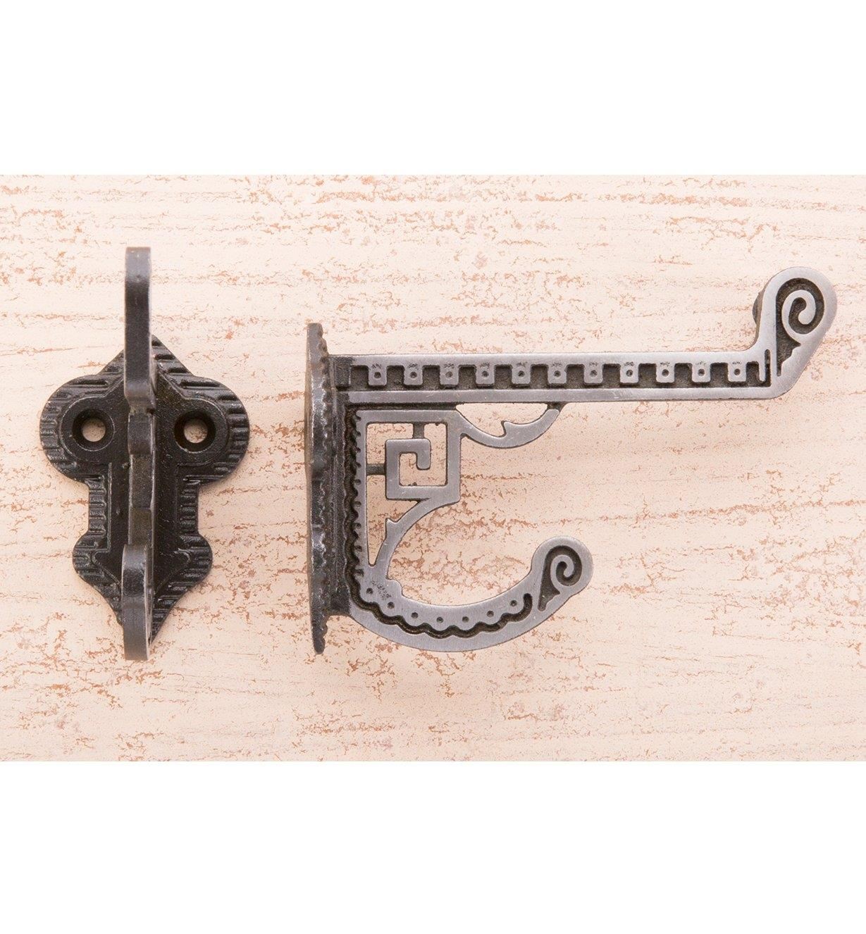 01K2601 - Art Deco Coat Hook