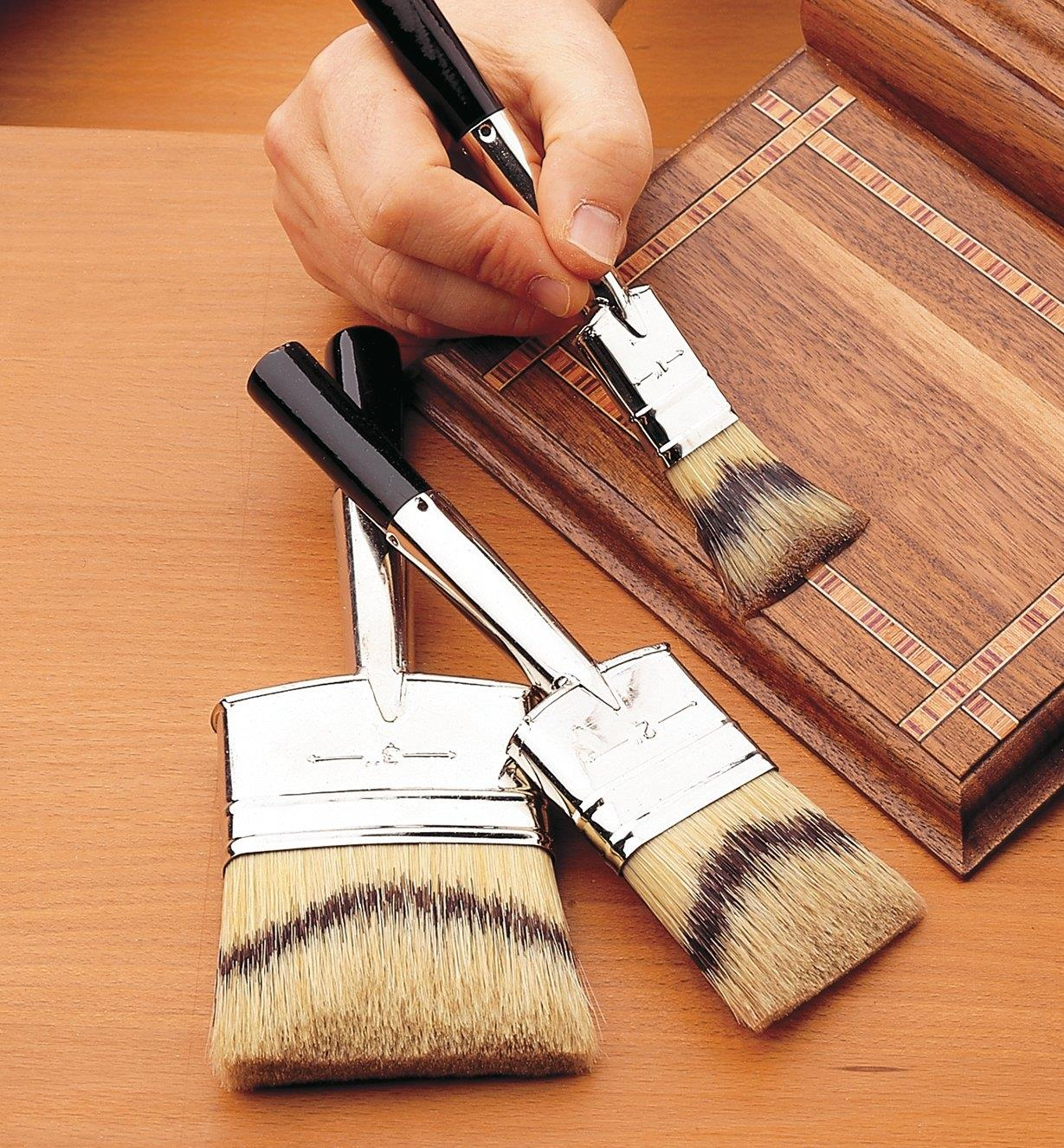Badger Double Brushes