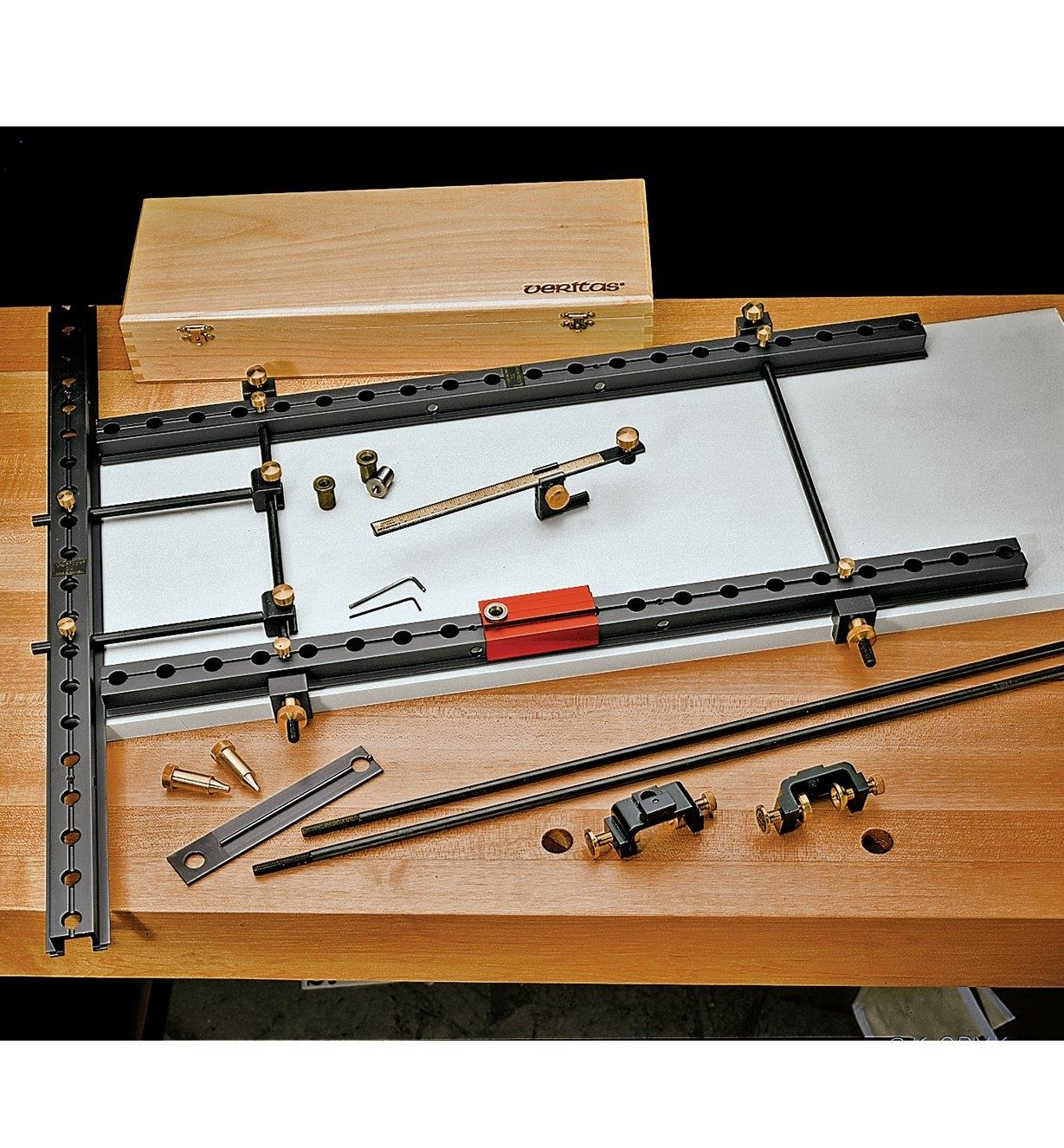 Components for the Veritas 32 Cabinetmaking System