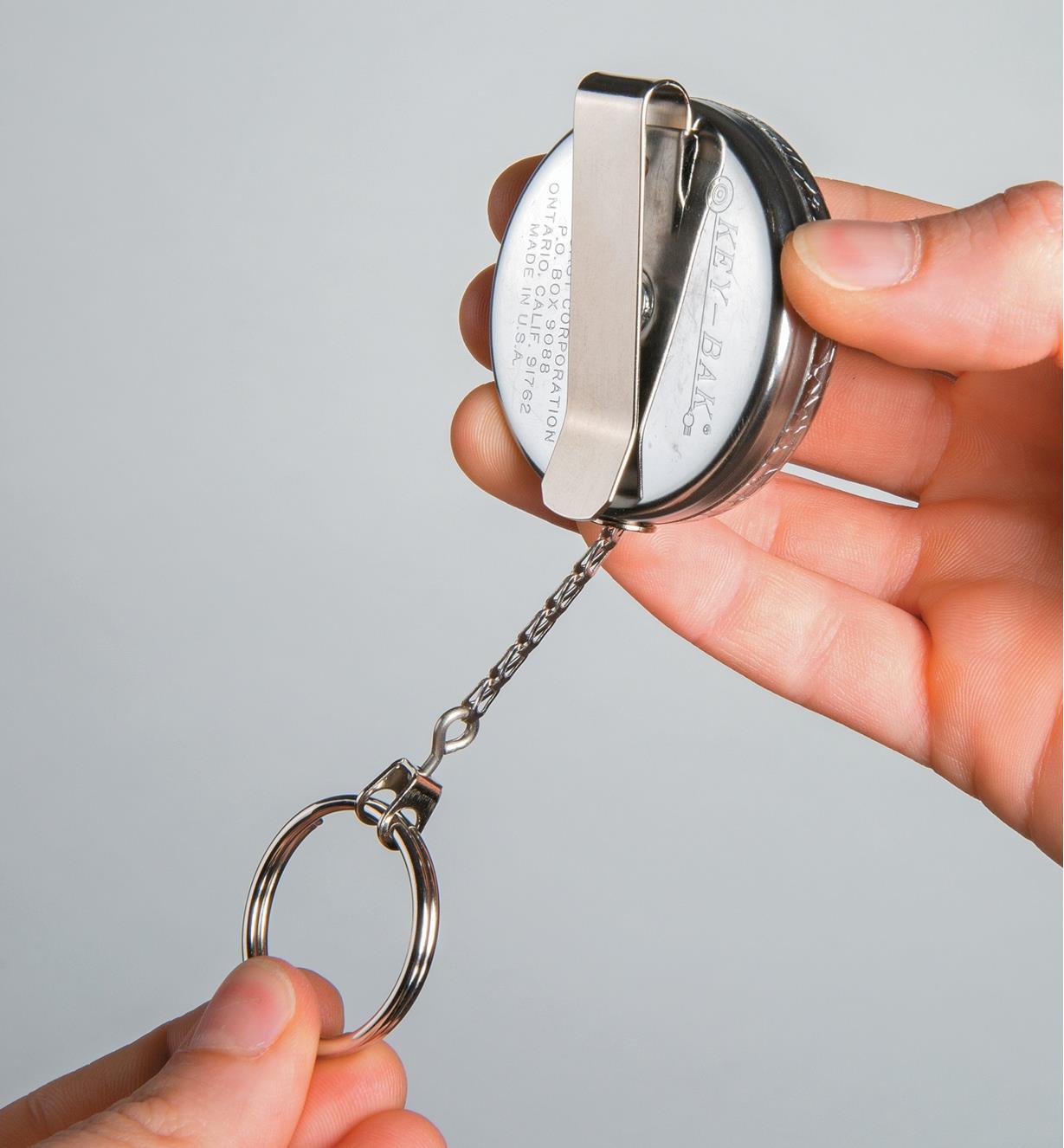 45K0720 - Porte-clés enrouleur classique Key-Bak