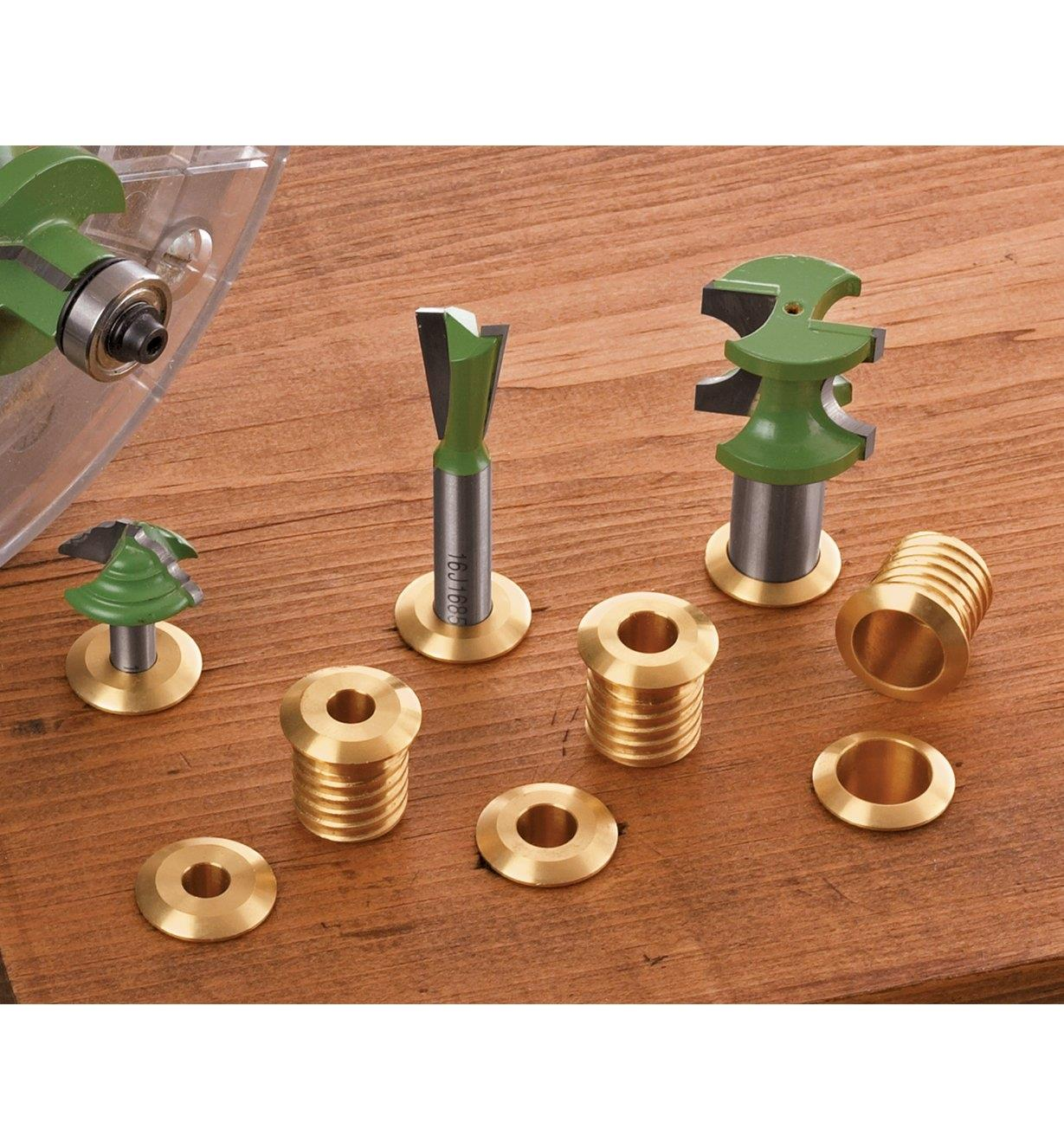 Brass Bit Holders