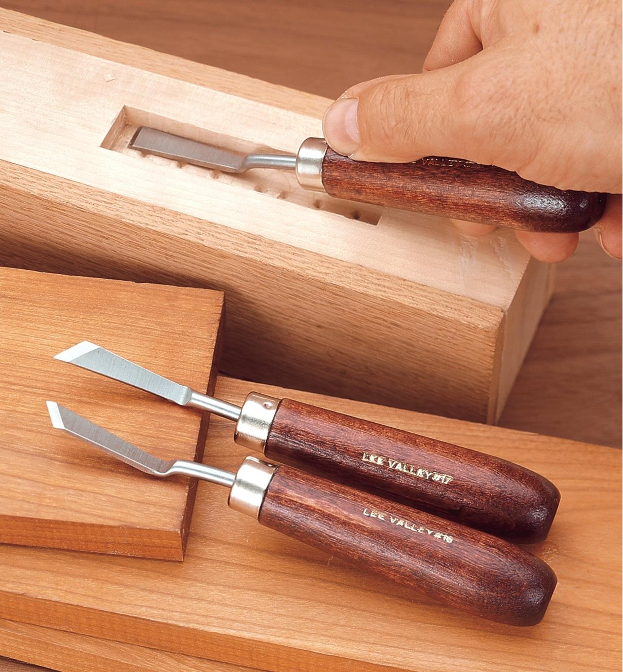 57D1110 - Cranked-Neck Chisel Set of 3