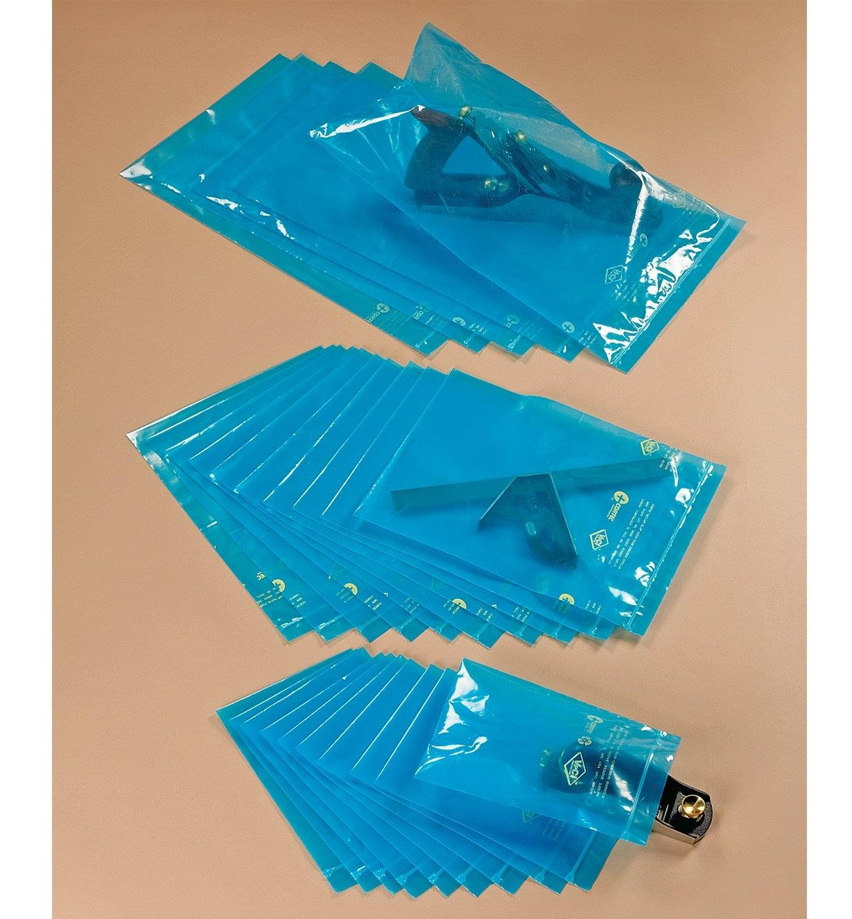 Corrosion-Inhibiting Storage Bags